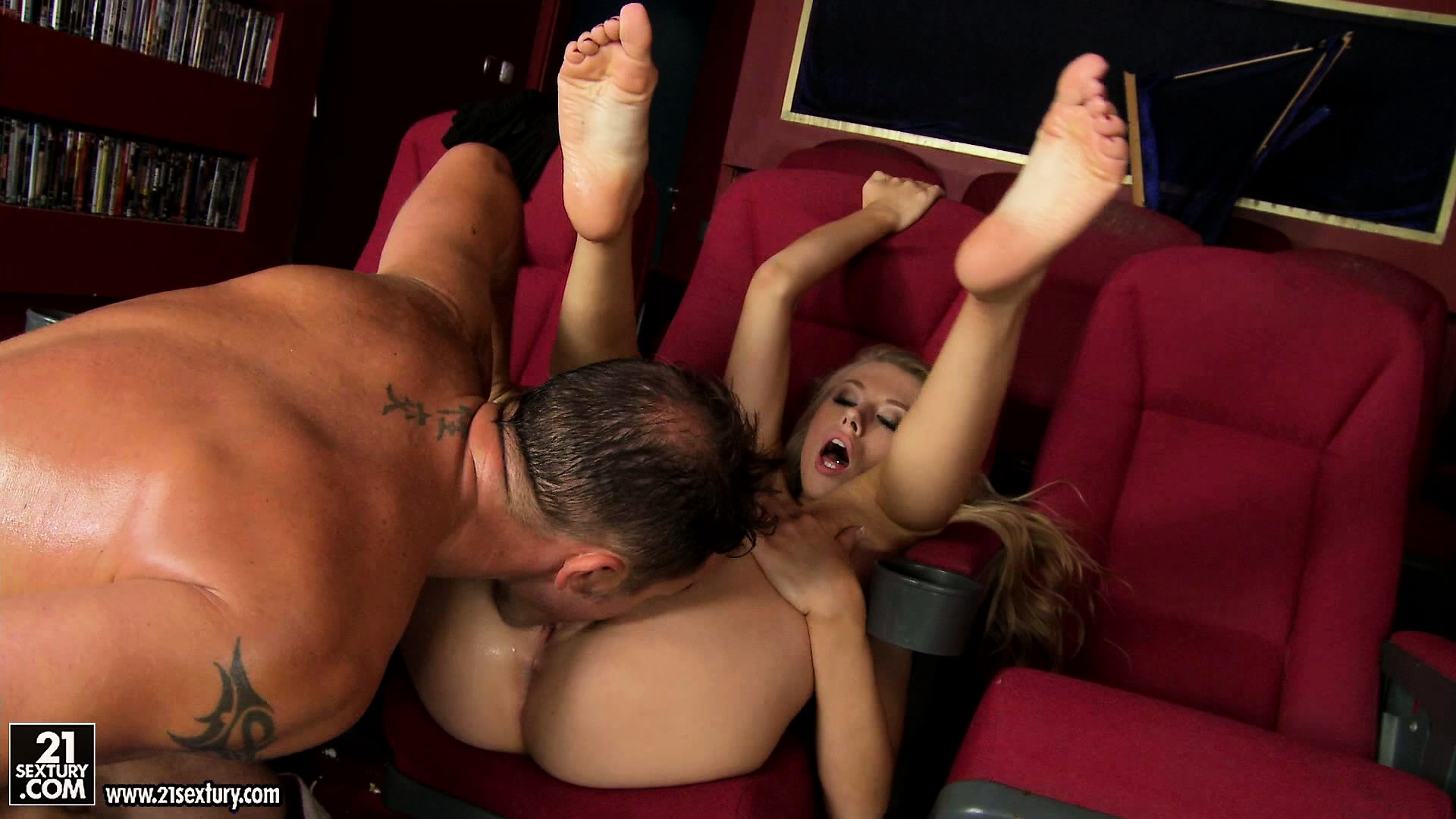Porno Video of He Fucks Her Pussy Deep And Sucks Her Toes And She Sighs With Intense Pleasure