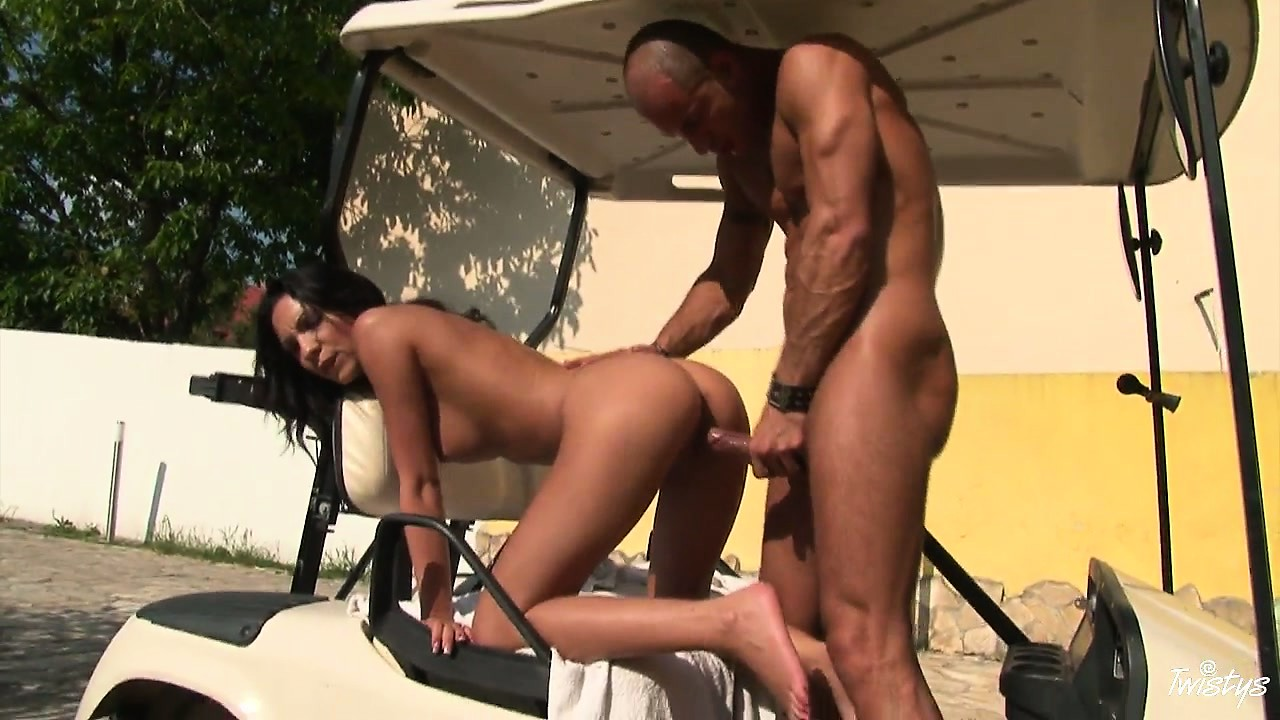 Porn Tube of They're Outside And She's Bent Over Getting Banged Doggy Style