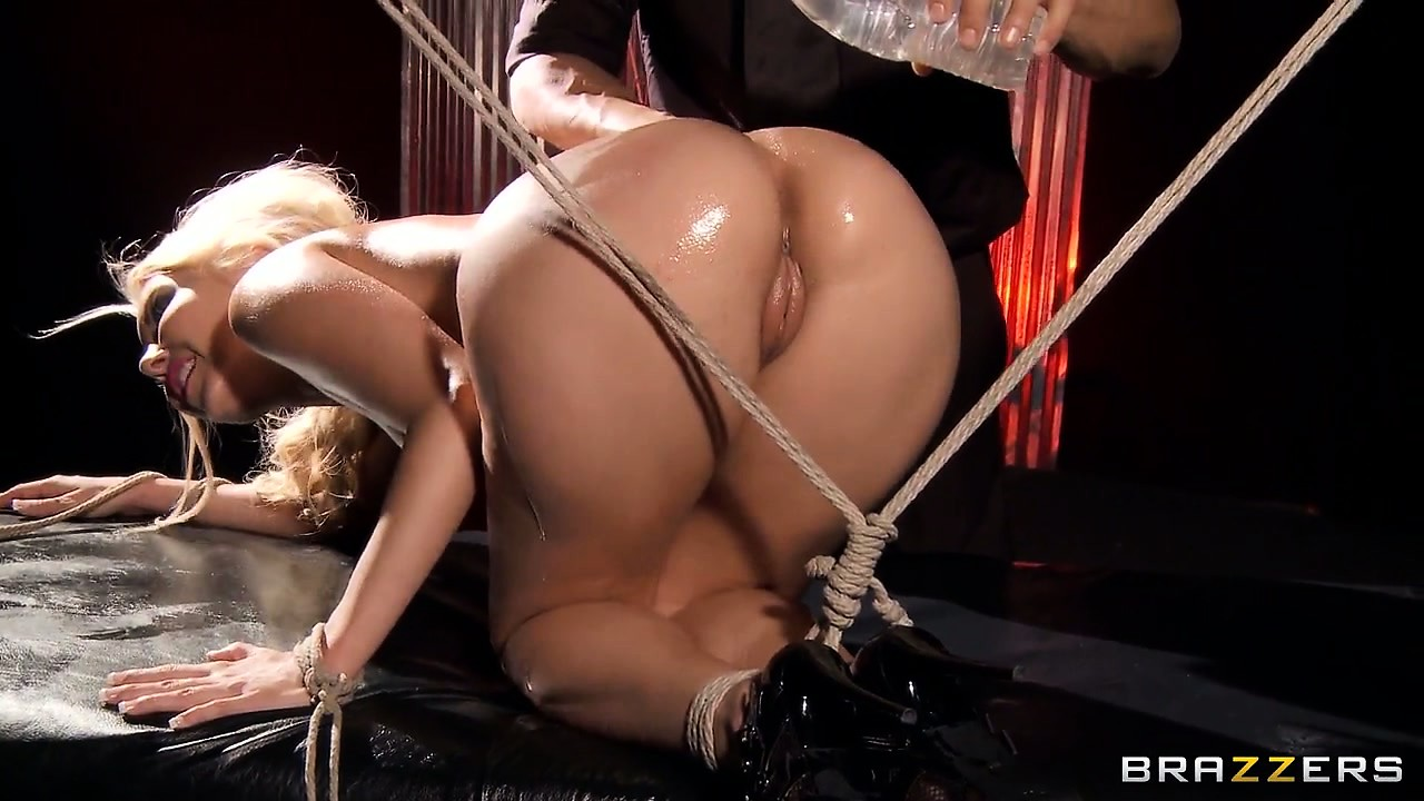 Porn Tube of Such A Fine Ass, She Gets Tied Up And Then Toyed With A Vibrator