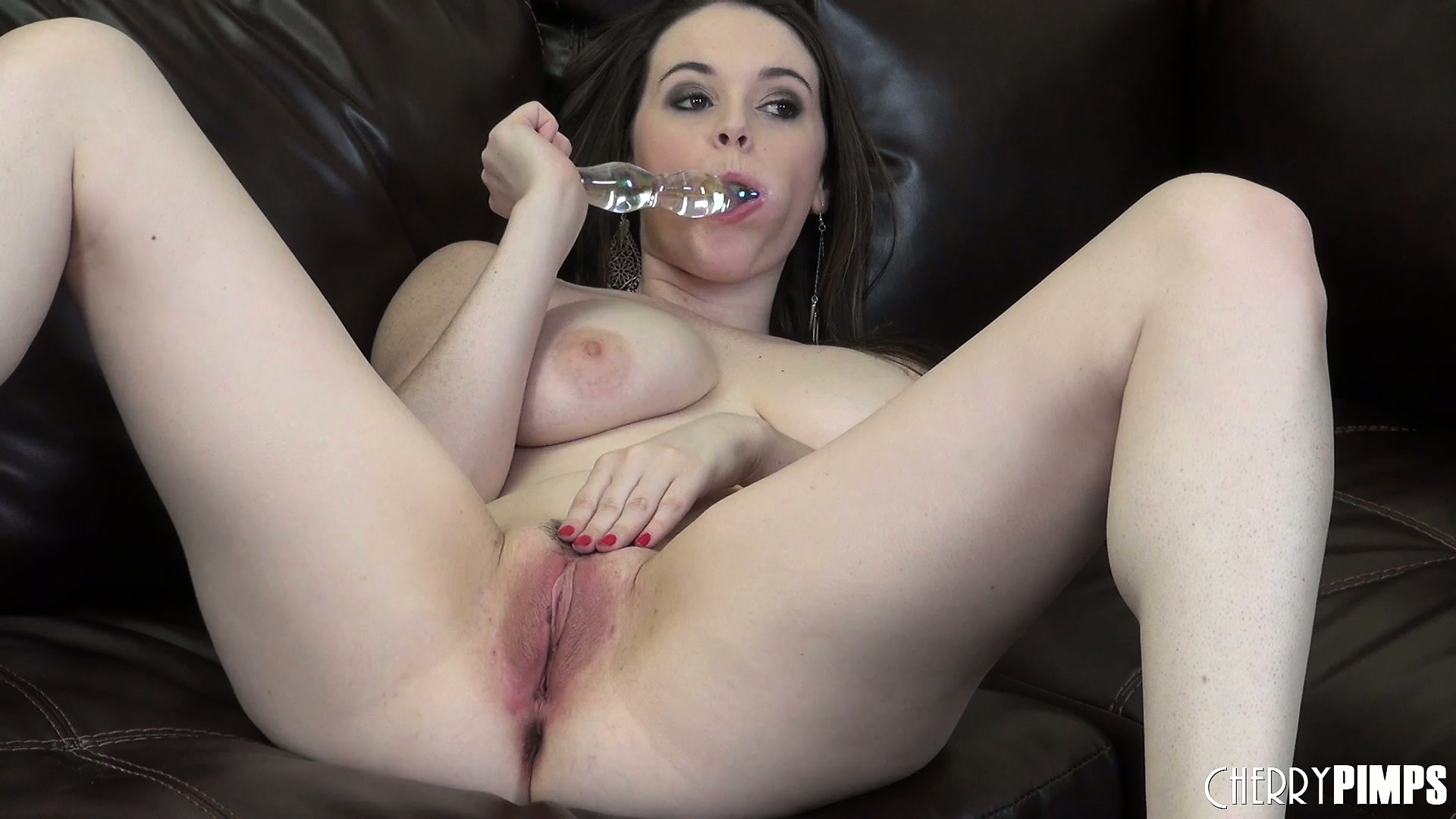 Porno Video of Tessa Works That Toy In And Out To Get Her Pussy Nice And Juicy