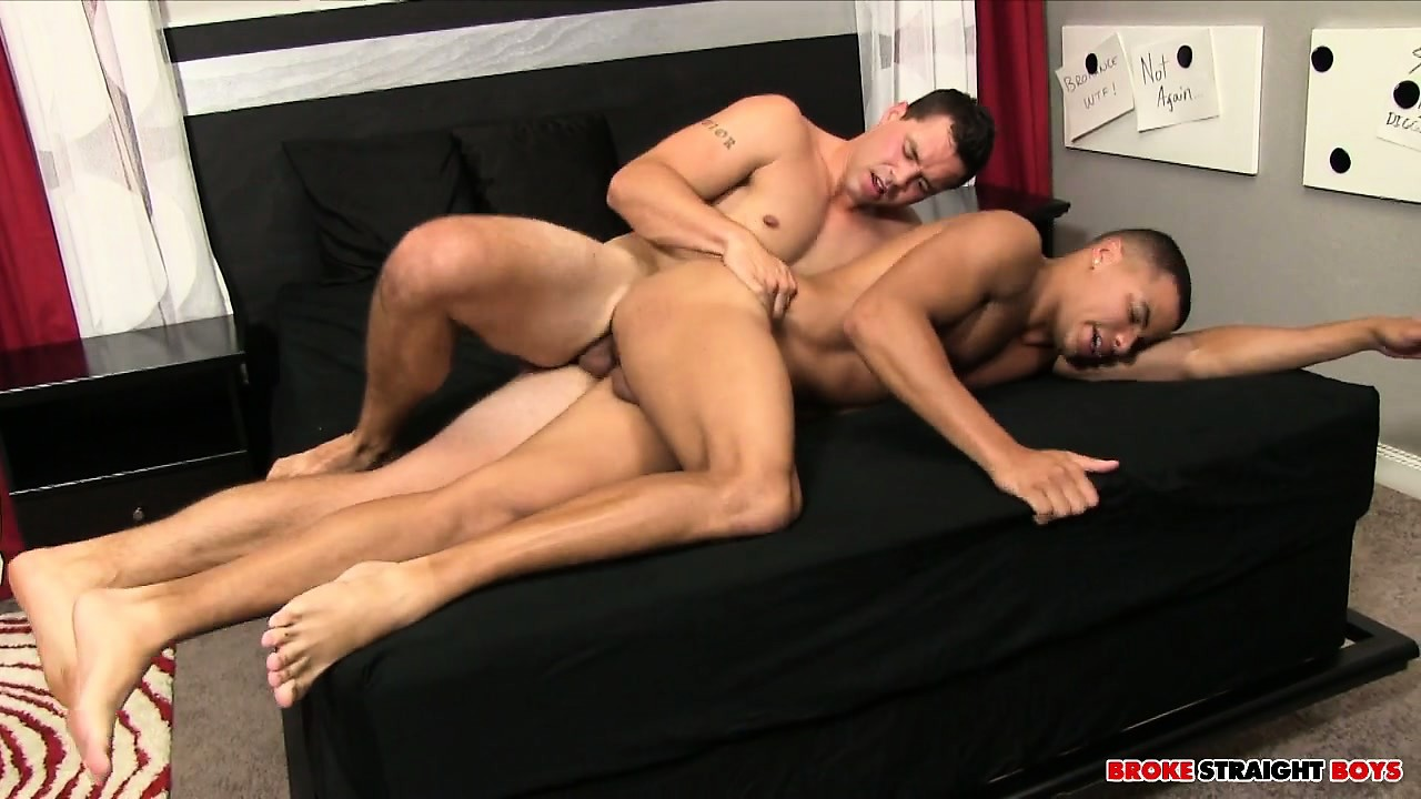 Porno Video of After The Deep Ass Drilling Action, Sergio Fills Kaden's Mouth With Cum