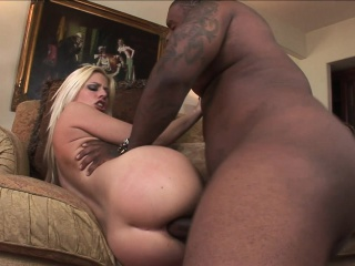 sexy jessie volt brings her fantasy with a hung black stud to fruition