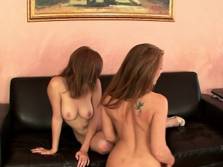 ginger blaze gets her pussy eaten out and drilled by her lesbian lover