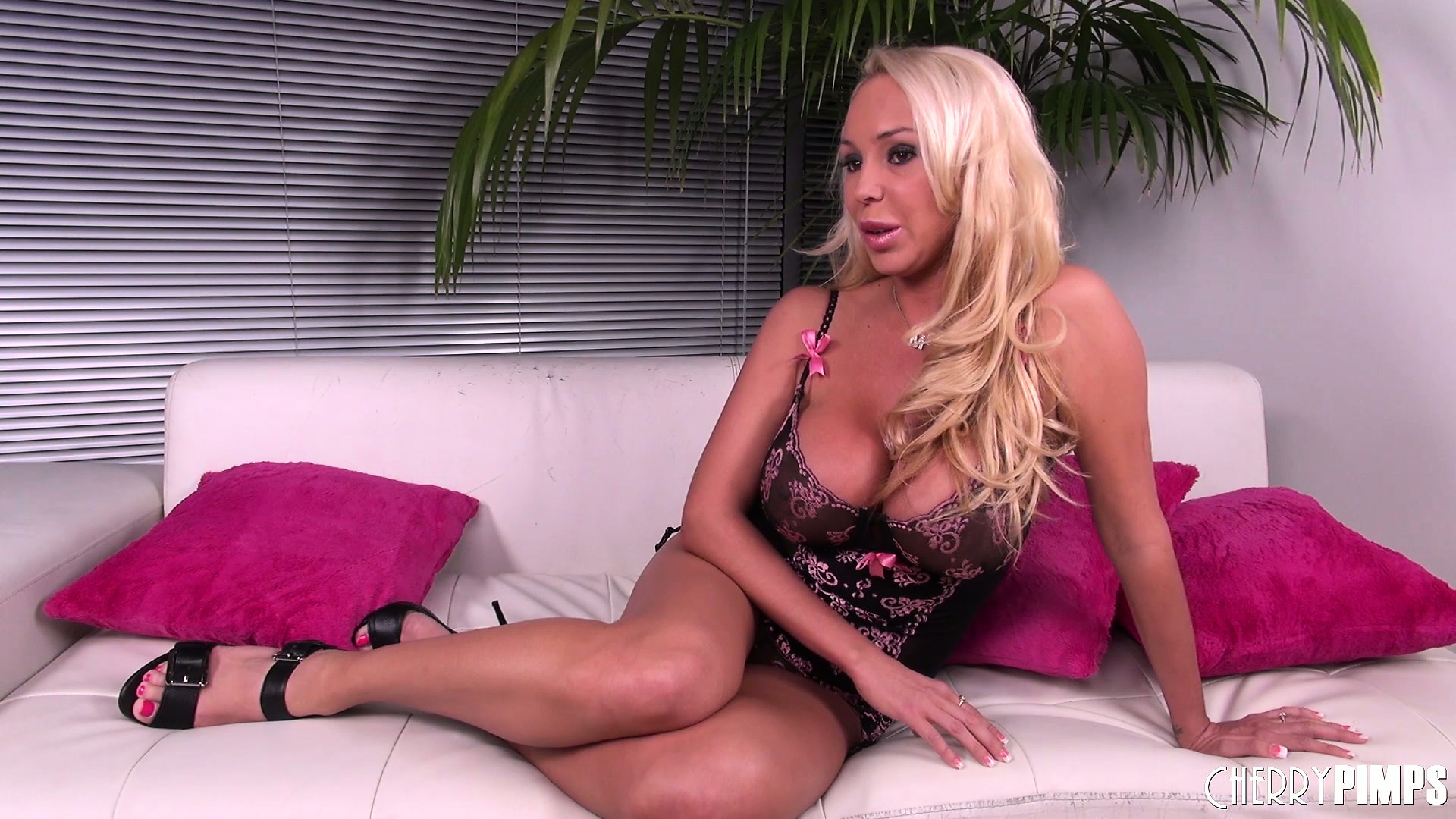 Porn Tube of Mary Carey Flirts For The Cameras In A Stunning Set Of Lingerie