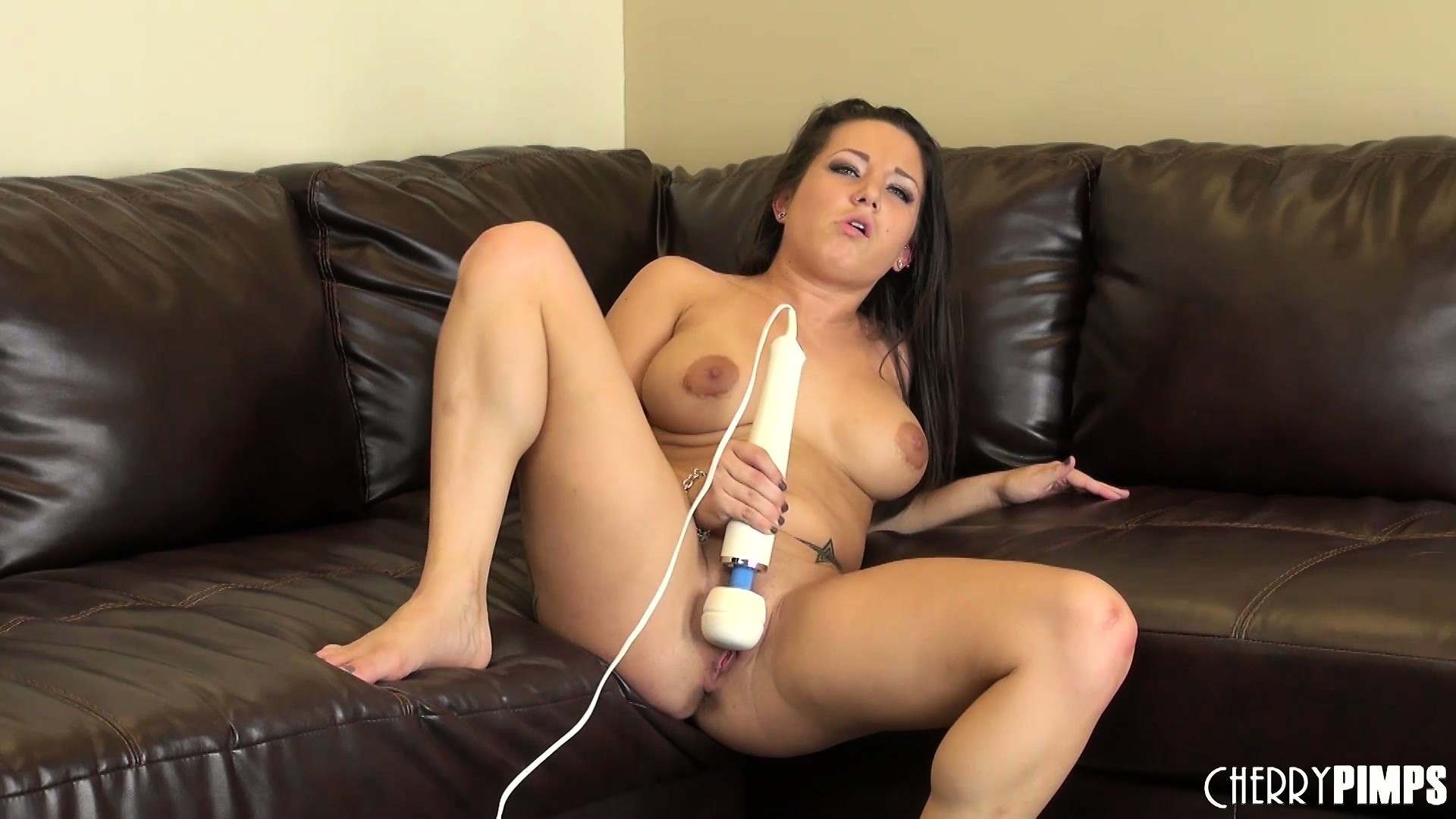 Porno Video of Charity Has A Vibrator Working Its Magic On Her Clit And Relishes Every Moment Of It