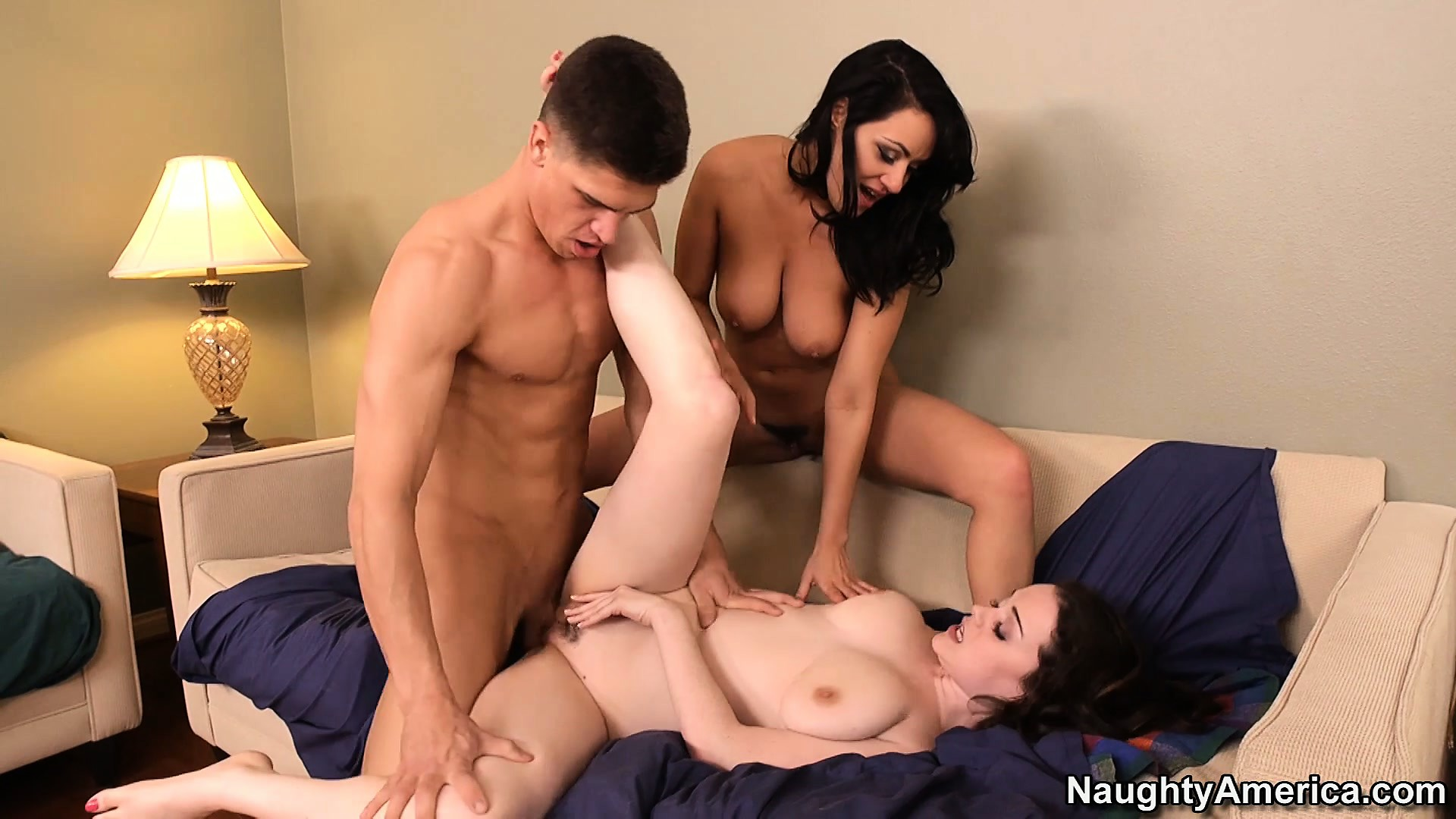 Porn Tube of Fanatical Ffm Threesome Fun With Slutty Charley Chase And Friends