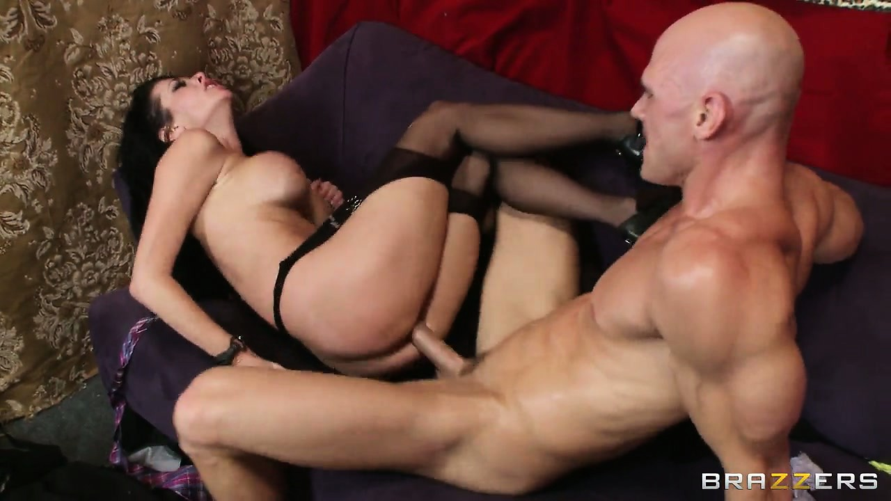 Porn Tube of This Busty Looks So Sexy When Fucking With Her Stockings And Heels Still On