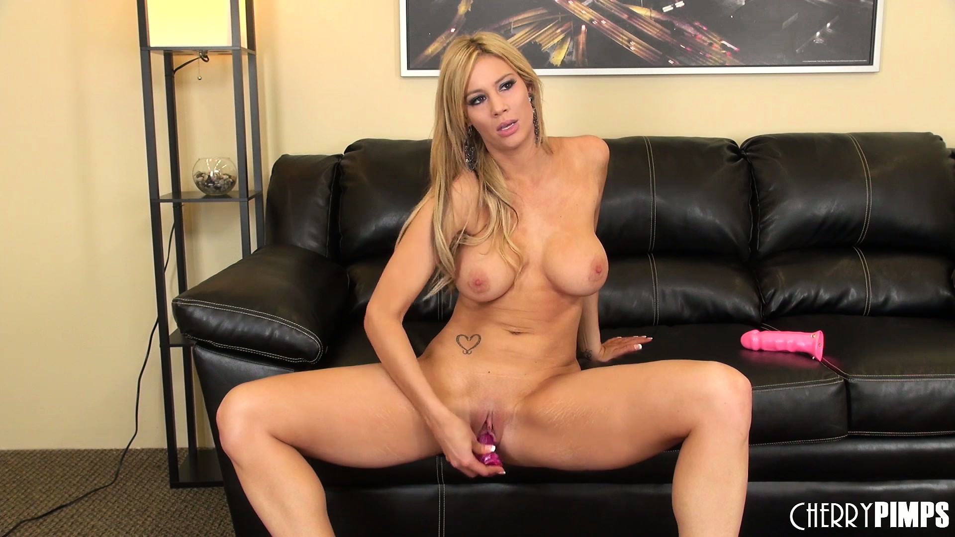 Porn Tube of She Sits On The Couch And Gets Her Toys Out To Go Solo On Her Cunt