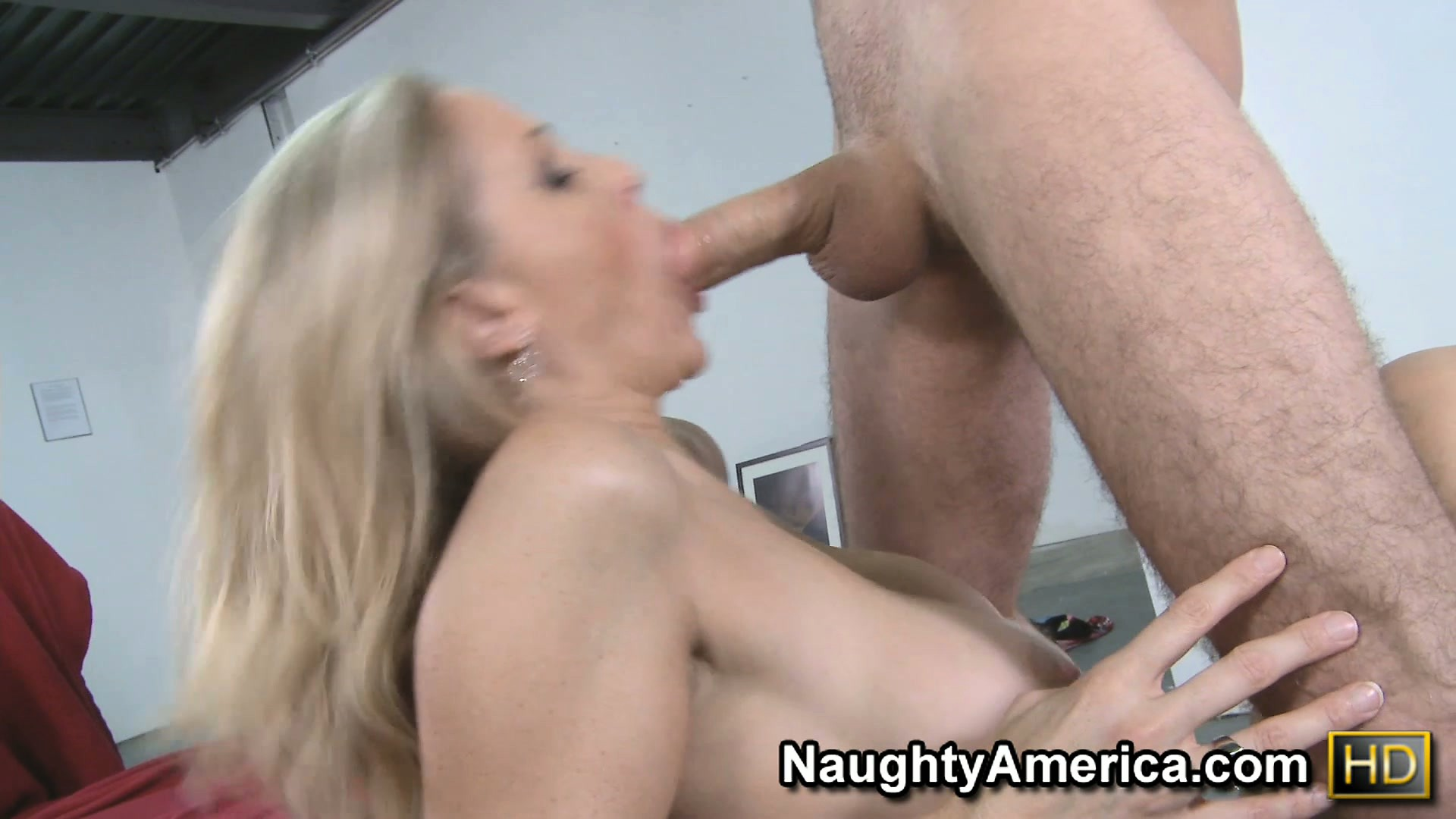 Porno Video of Julia Ann Loves The Way This Stranger Makes Her Hairy Snatch Wet