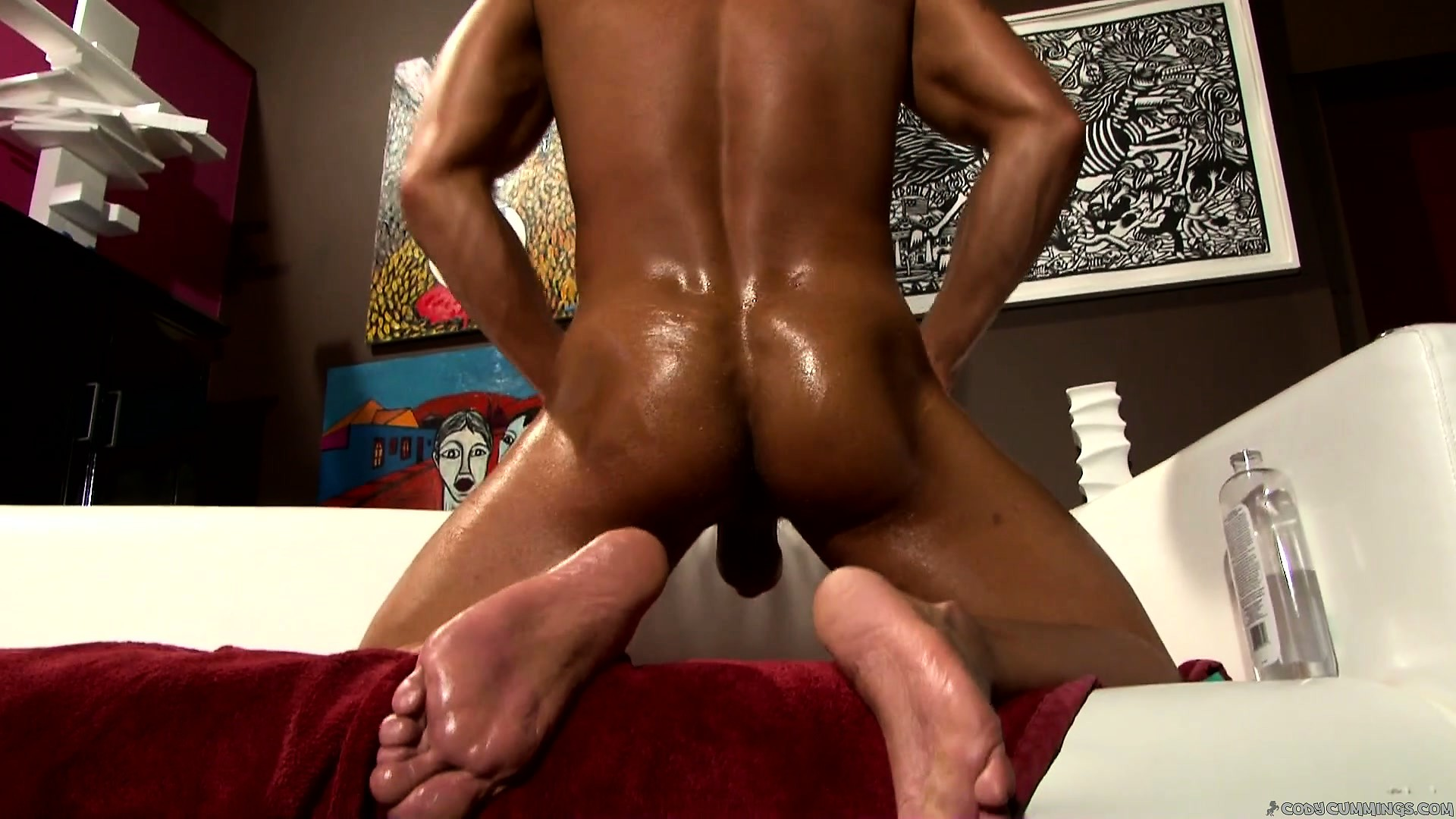 Porn Tube of Now He Shows Off His Nice Ass, Fingers It, And Gives His Cock A Good Tug