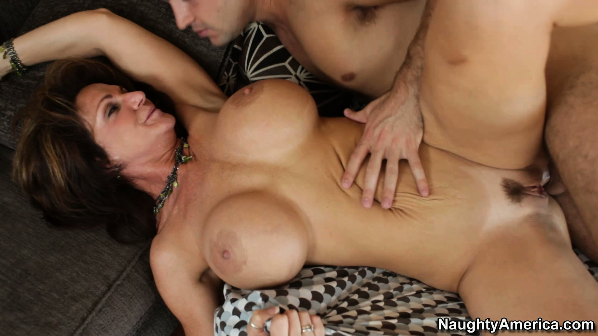 Porn Tube of Deauxma Gets Her Tight Pussy Fucked From Behind While He Kisses Her