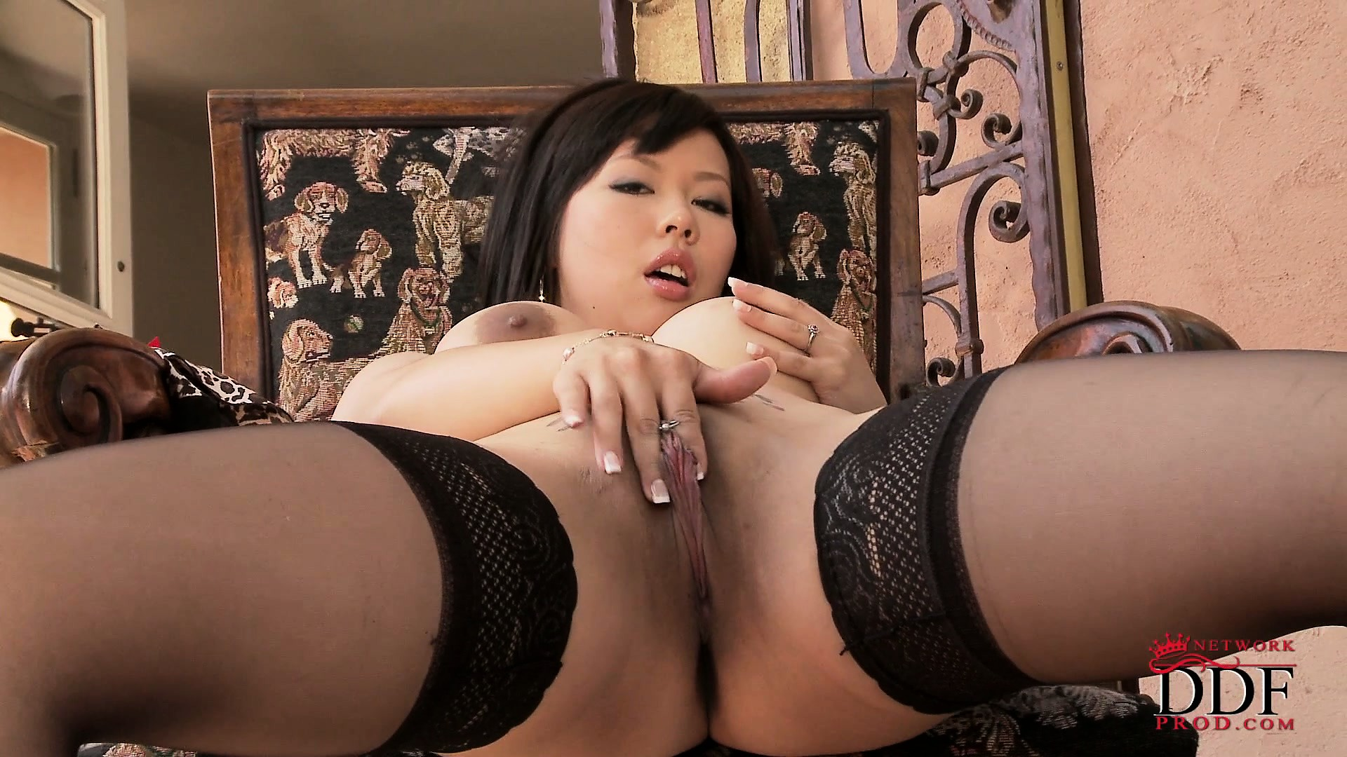 Porn Tube of Petite Asian Slut Plays With Her Tiny Nipples And Sexy Pussy
