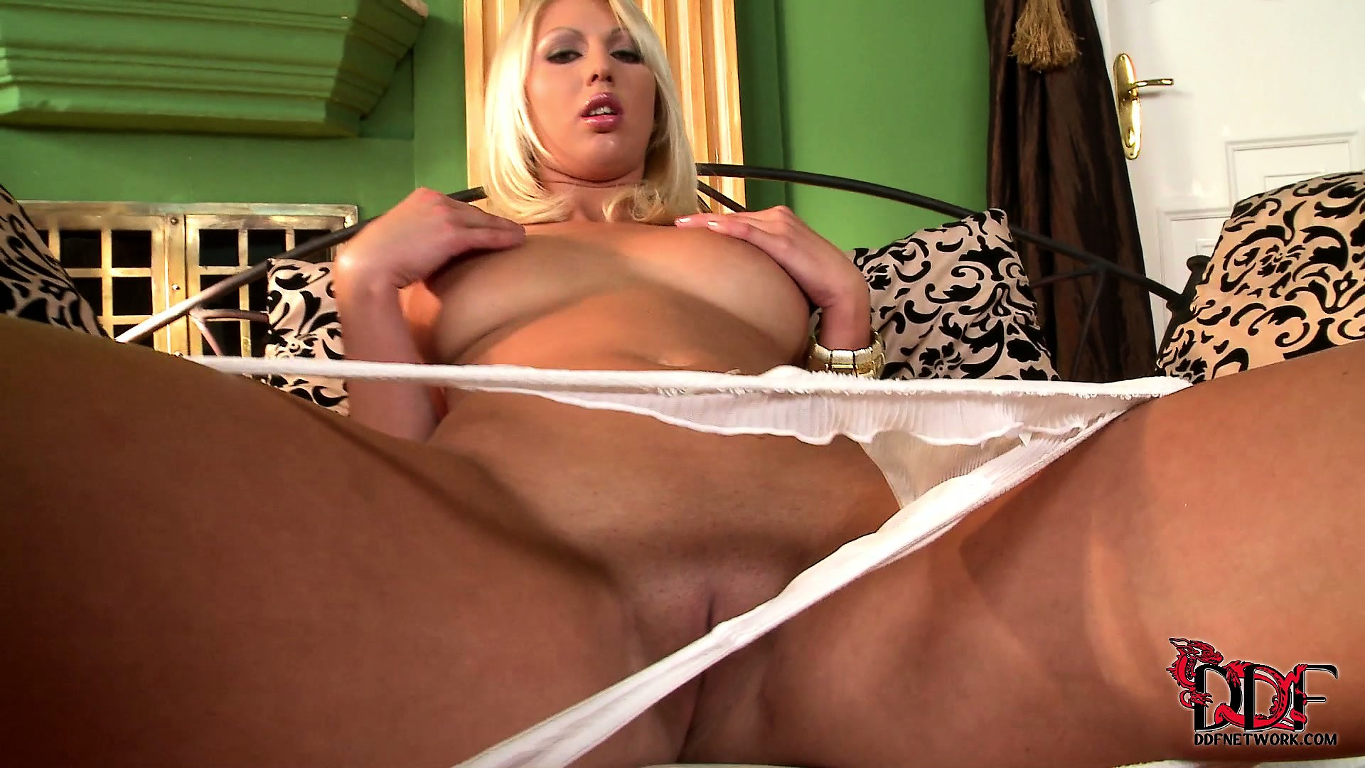 Porno Video of The Blonde Slowly Exposes Her Perfect Big Tits, Superb Ass And Tight Shaved Cunt