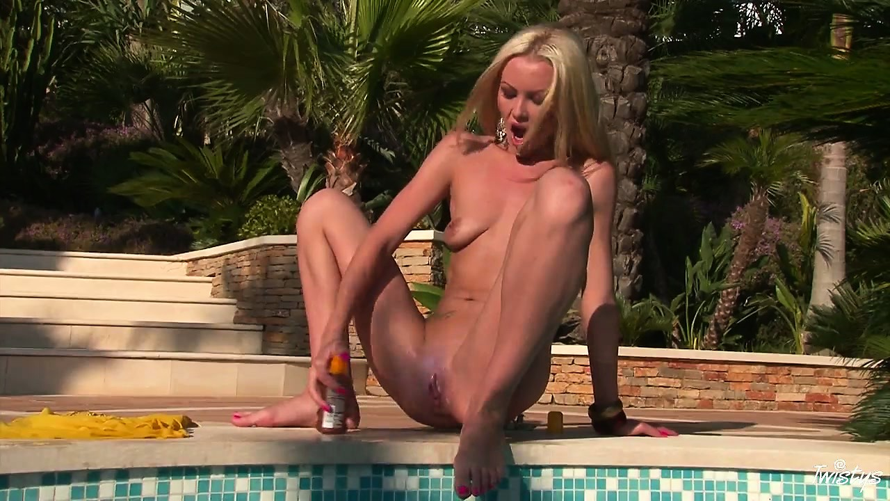 Porn Tube of She Can Barely Wait To Take Off Her Bathing Suit And Finger Her Cunt
