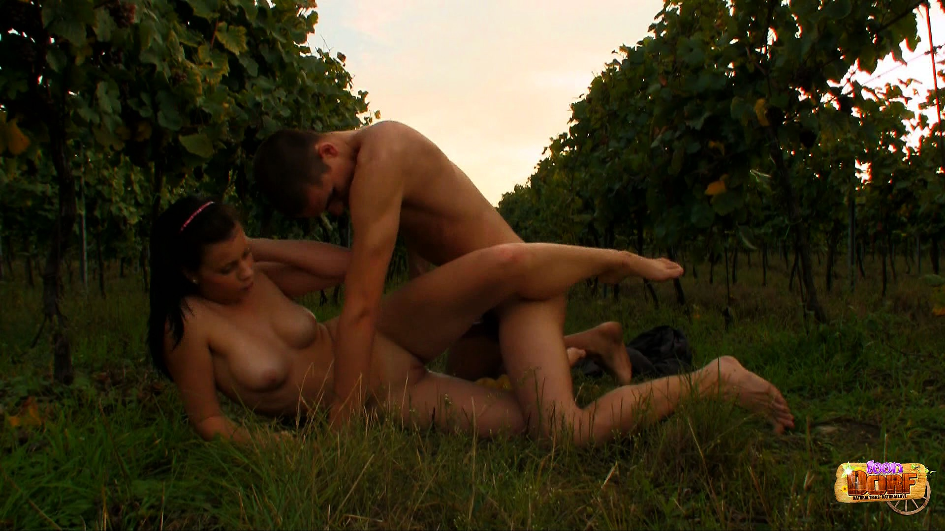 Porno Video of In The Outdoors, Busty Brunette Branislava Enjoys A Hot Sex Adventure With Aleksej