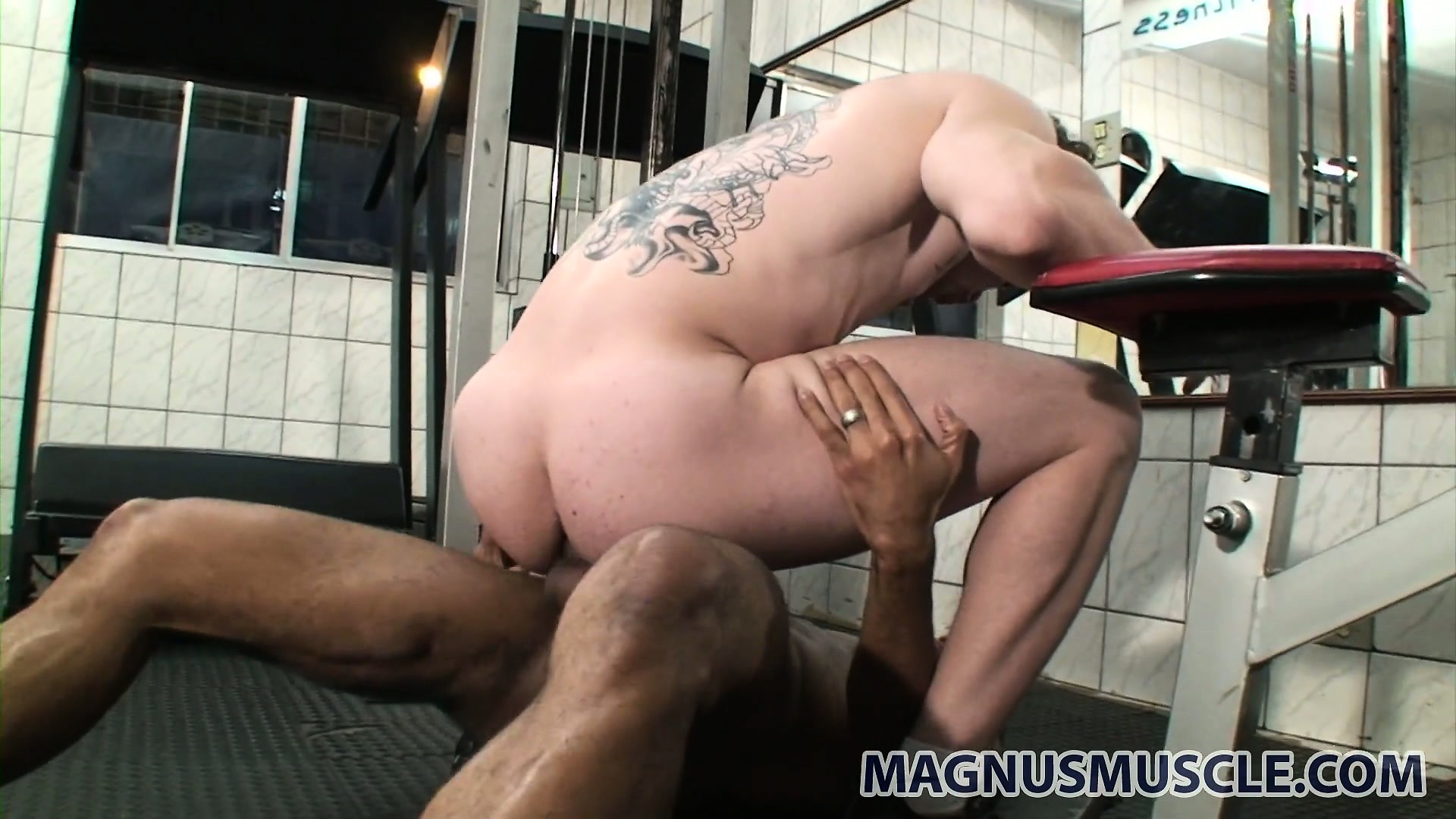Porno Video of Intense Black-on-white And Vice Versa Gay Fucking With Arcanjo And Jhonathan