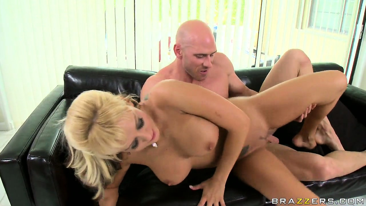 Porno Video of Slutty Blonde With Huge Hooters Spreads Her Legs Wide For His Cock