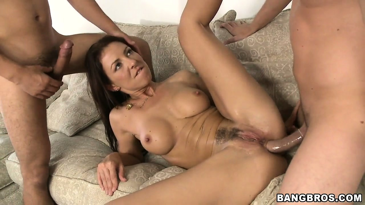Porn Tube of Hungarian Milf Maria Bellucci Double Penetrated By Two Hard And Hungry Cocks