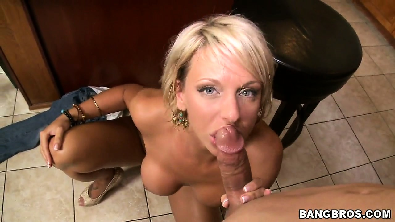 Porno Video of Milf Brianna Beach Slammed Hard By A Hard Cock In The Kitchen