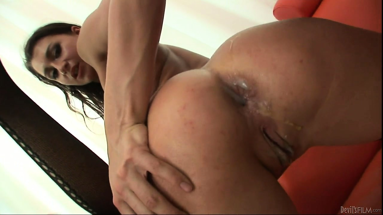 Porno Video of Lovely Brunettes With Horny Anal Holes Get The Attention They Require