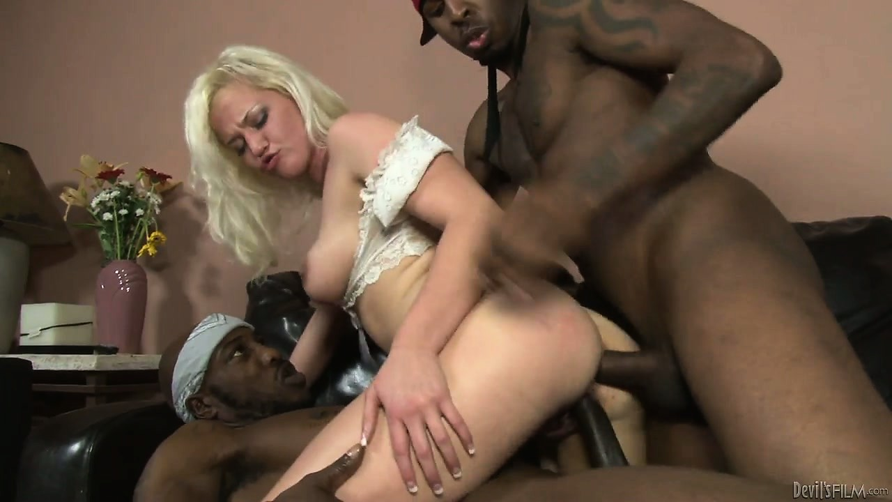 Porno Video of The Blonde Surrenders Her Hot Body To Those Big Cocks And Enjoys Intense Pleasure