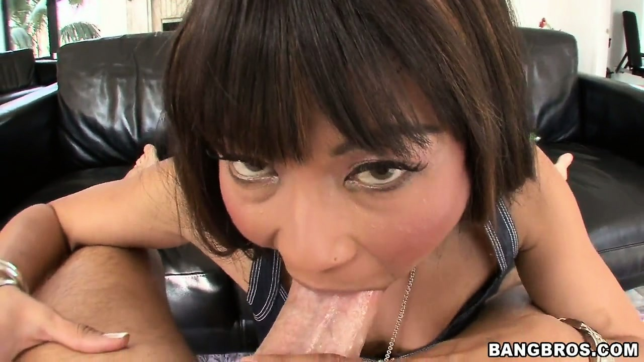 Porno Video of She Stiffs That Cock With Her Mouth, Preparing It To Drill Her Sexy Ass