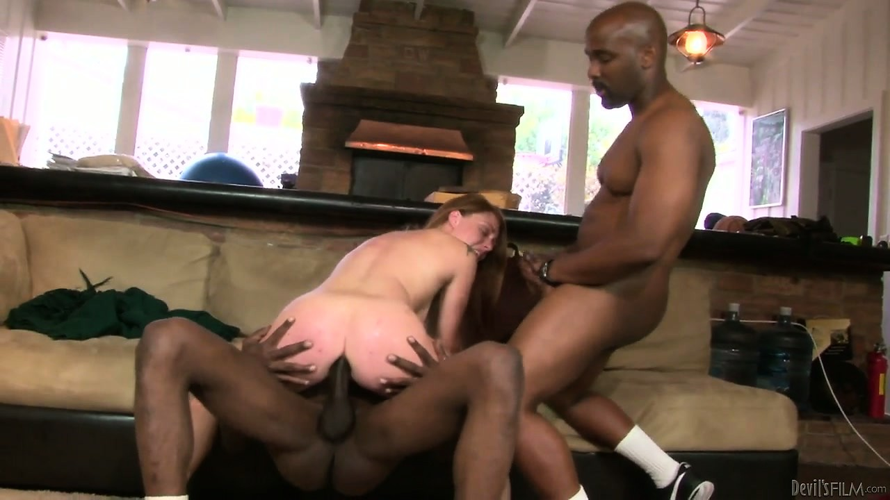 Porno Video of She Got Three Hole To Fill And Big Black Cocks Surround Her For Access