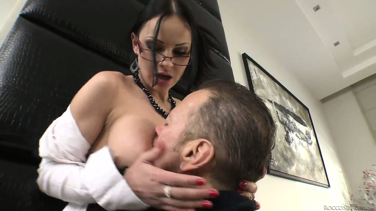 Porno Video of Xxx Fucktory - The Parody Italian Style As Sexy Brunette Scores The New Cock In Town
