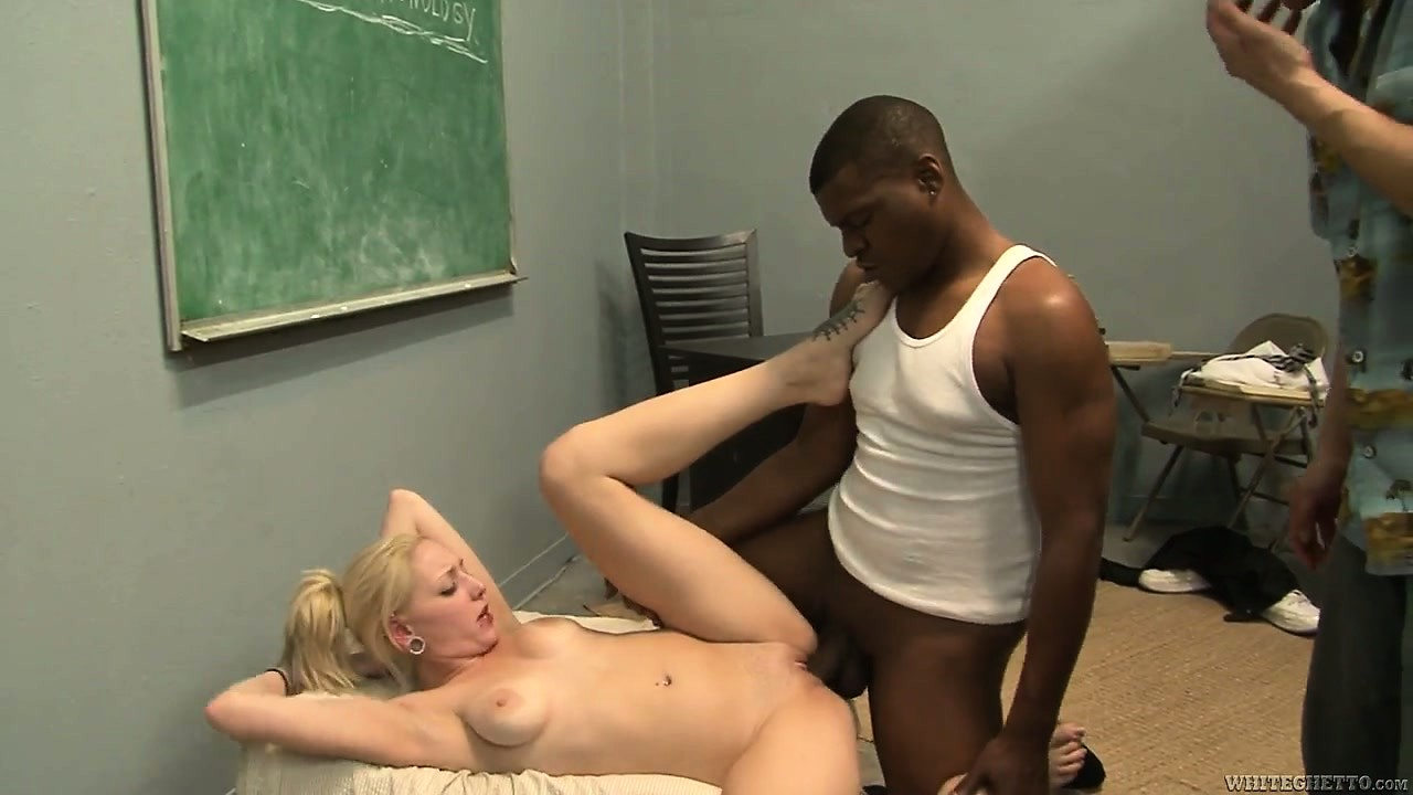 Porno Video of Cuckold Learns His Lesson Watching Blonde Get Rammed By A Big Black Boner