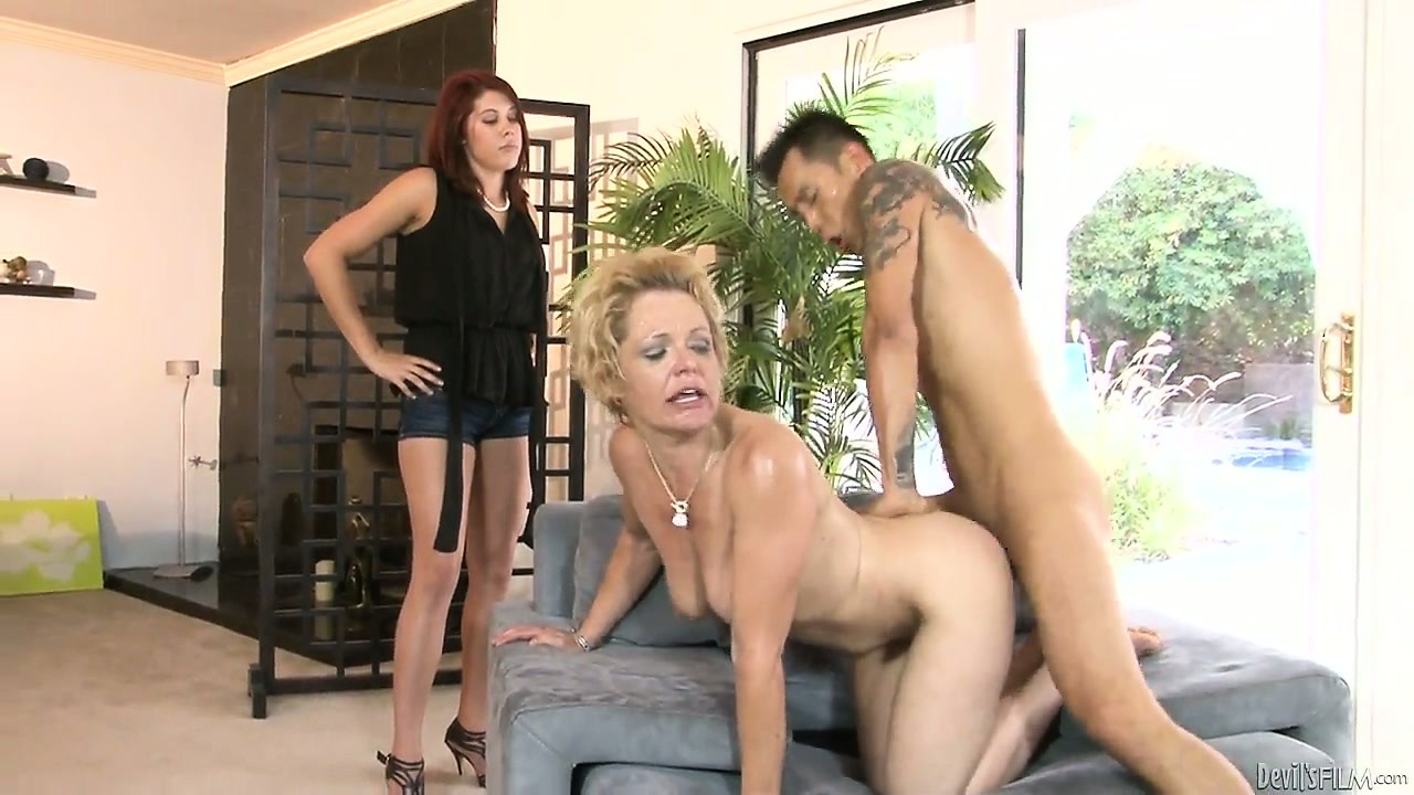 Porn Tube of Even Though She Walks In, Her Hubby And Mom Won't Stop Fucking