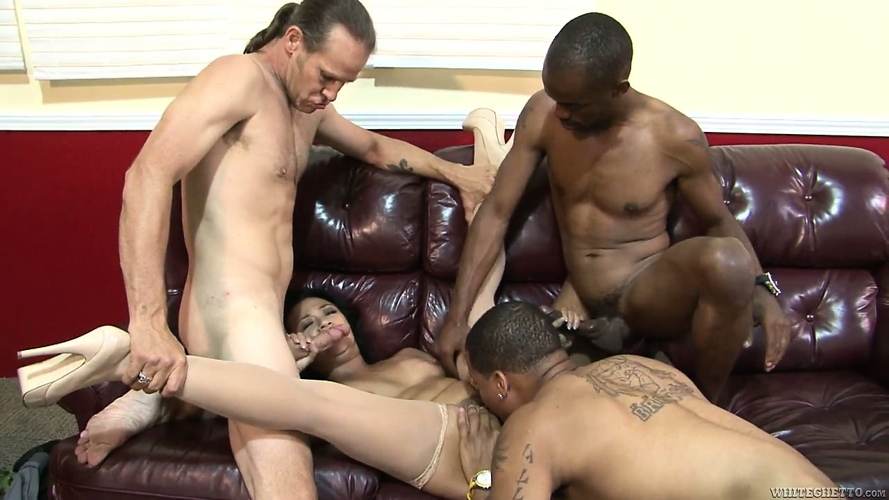 Porno Video of Asian Mom's Hairy Pussy Gets Cock Of All Colors And Sizes In A Gangbang
