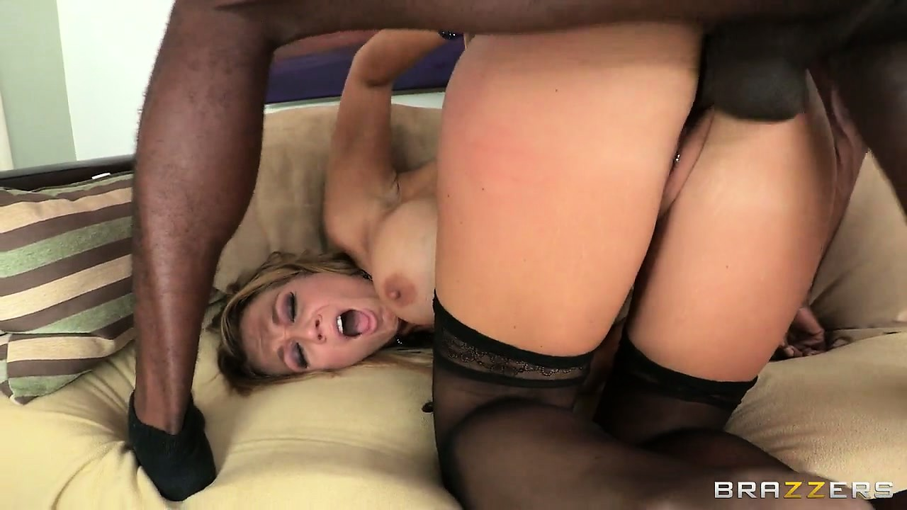 Porno Video of Nikki Sexx Fucked Hard In Doggy Style Position By A Hard Ebony Cock