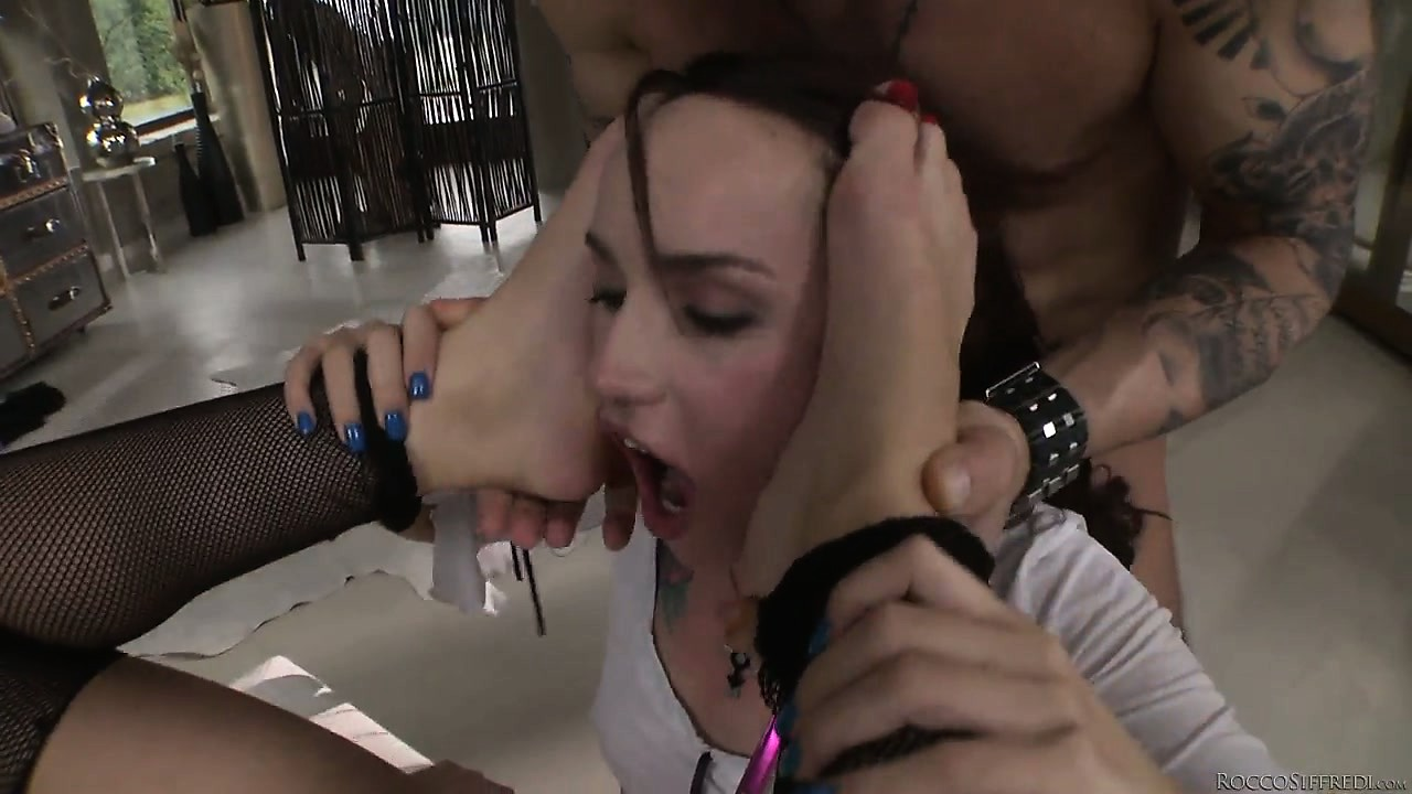 Porno Video of Horny Sluts Leyla Black And Sophie Lynx In A Hot Anal Threesome