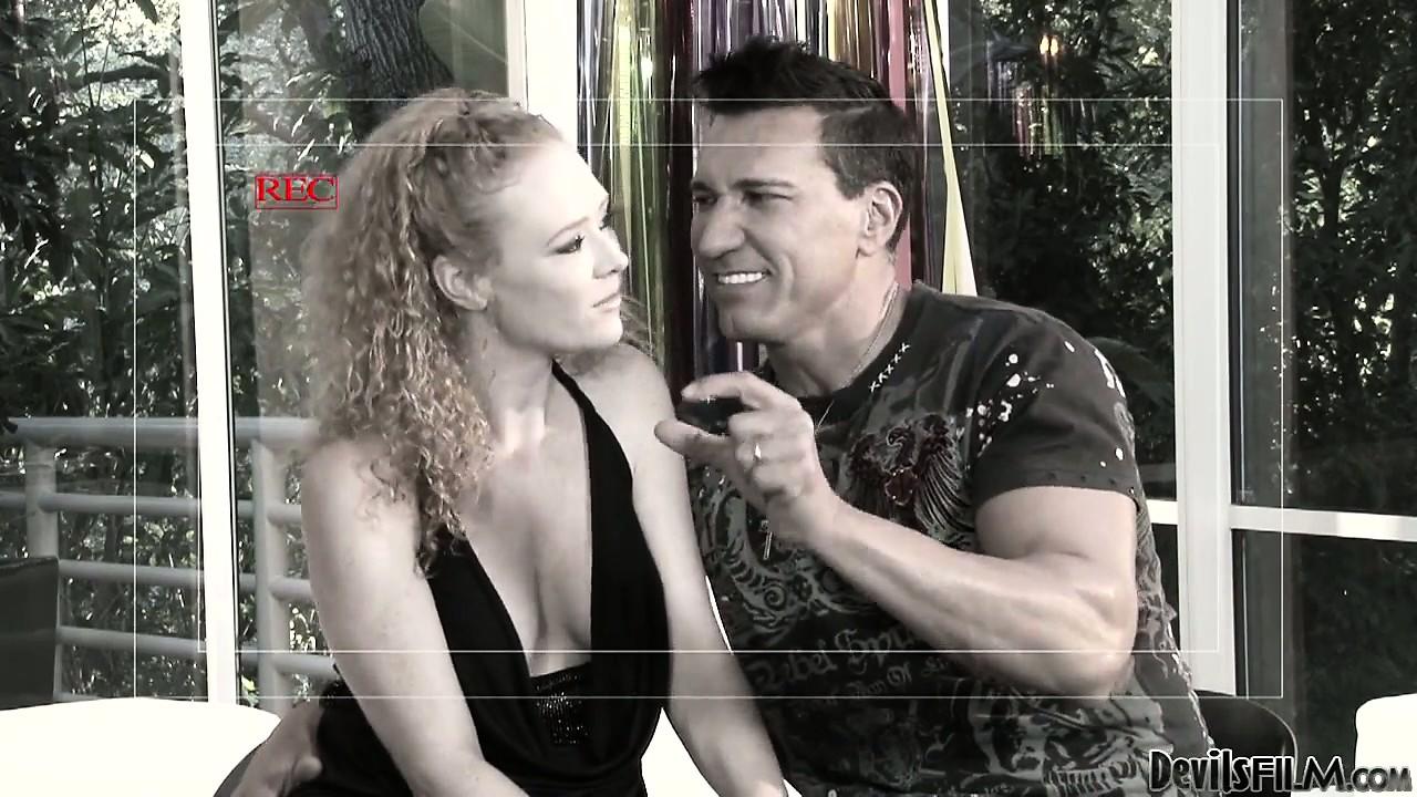 Porno Video of Blonde Whore Fucked Hard In A Fight Arena In A Parody Porn Video