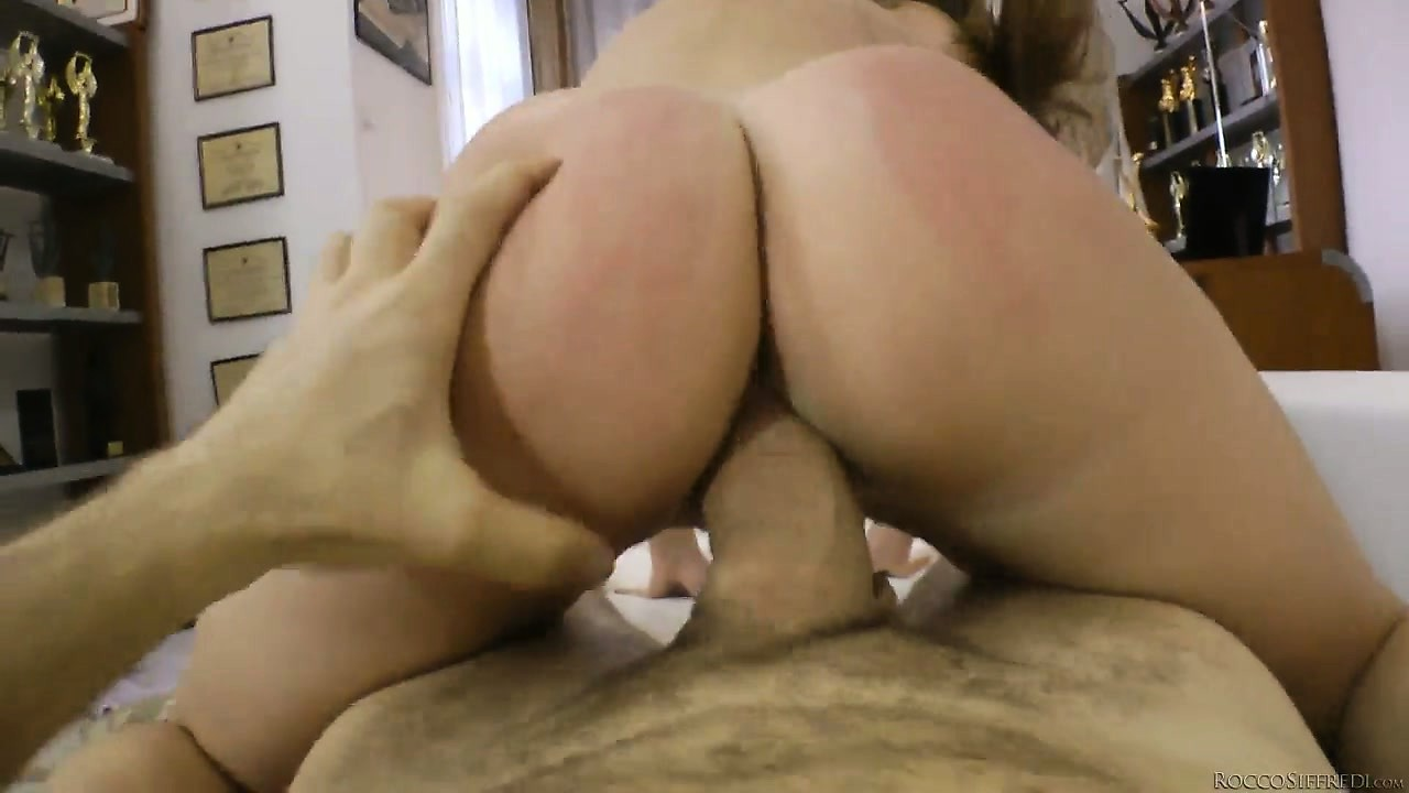 Porno Video of Ass-spanking Bastard Rocco Likes The Way His Schlong Enters Girl's Snatch