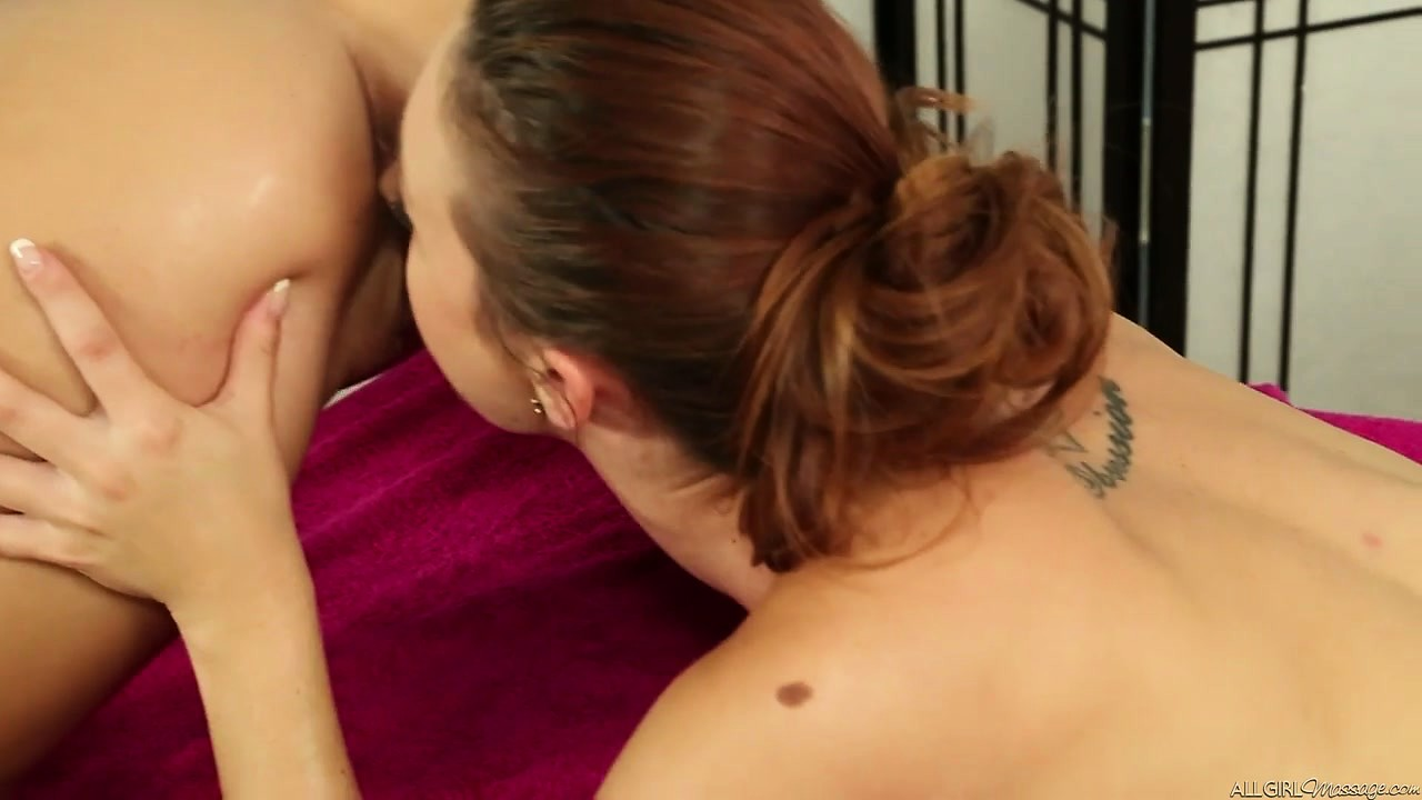 Porn Tube of She's A Kinky Masseuse Who Knows How To Relax Young Women's Bodies