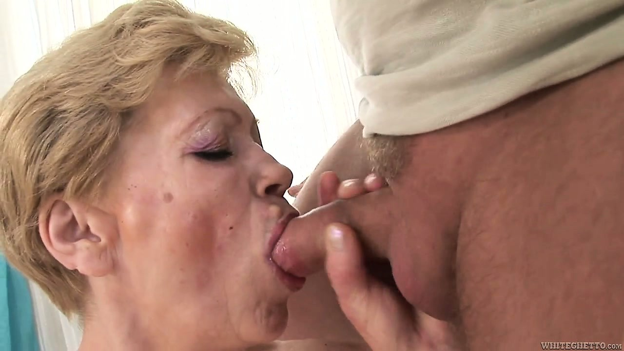 Porno Video of He Wants To Cum Inside This Granny But First He Fucks Her Hairy Twat