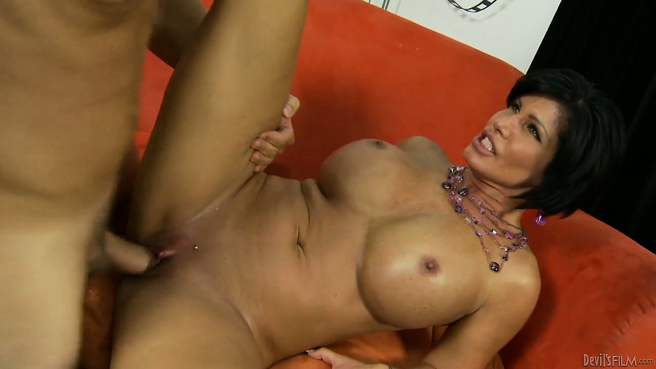 Porno Video of This Kinky Cougar Loves Young Boys So Much She Seduces Her Stepson