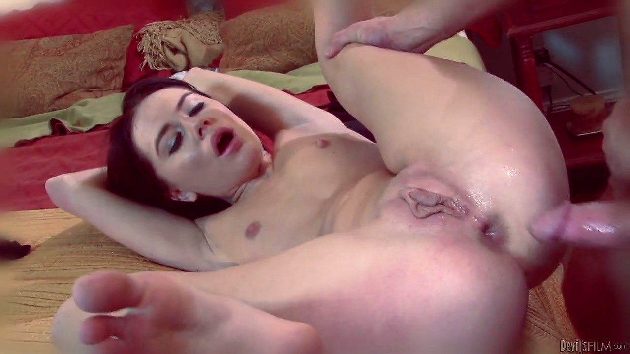 Porn Tube of She Gets Her Tight Holes Properly Pleased And Her Body Quivers With Pleasure