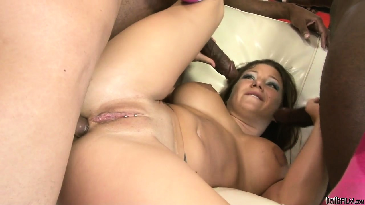 Porno Video of Anal And Pussy Fucking With Charity Bangs In A Hardcore Gangbang Scene