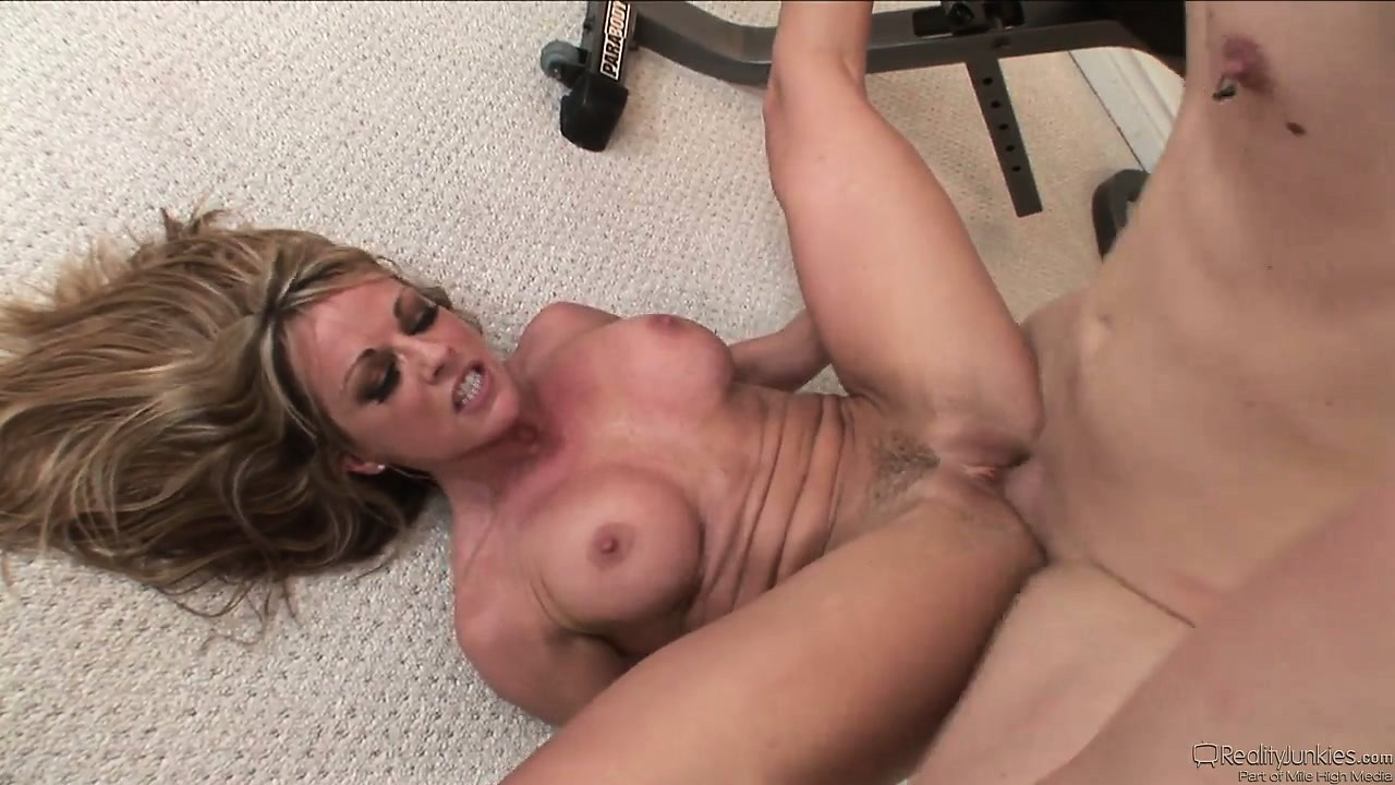 Porn Tube of Her Favorite Workout Is To Get Her Cunt Pounded Into An Orgasm
