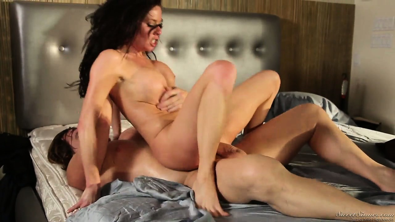 Porno Video of Milf Tries Several Freaky Positions While Riding On Her Man's Cock