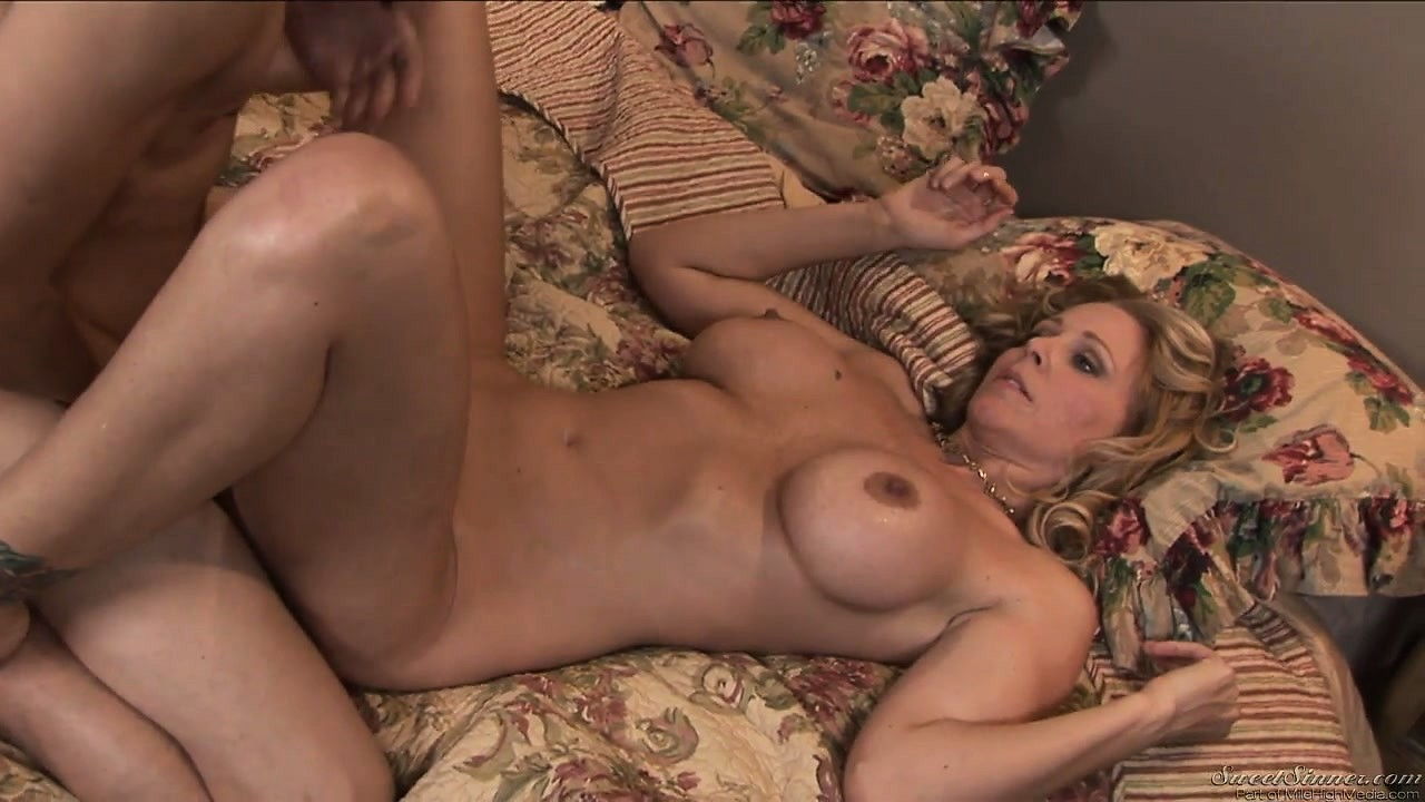 Porn Tube of My Mom's Best Friend Loves The Way I Let Her Suck My Cock After Dinner