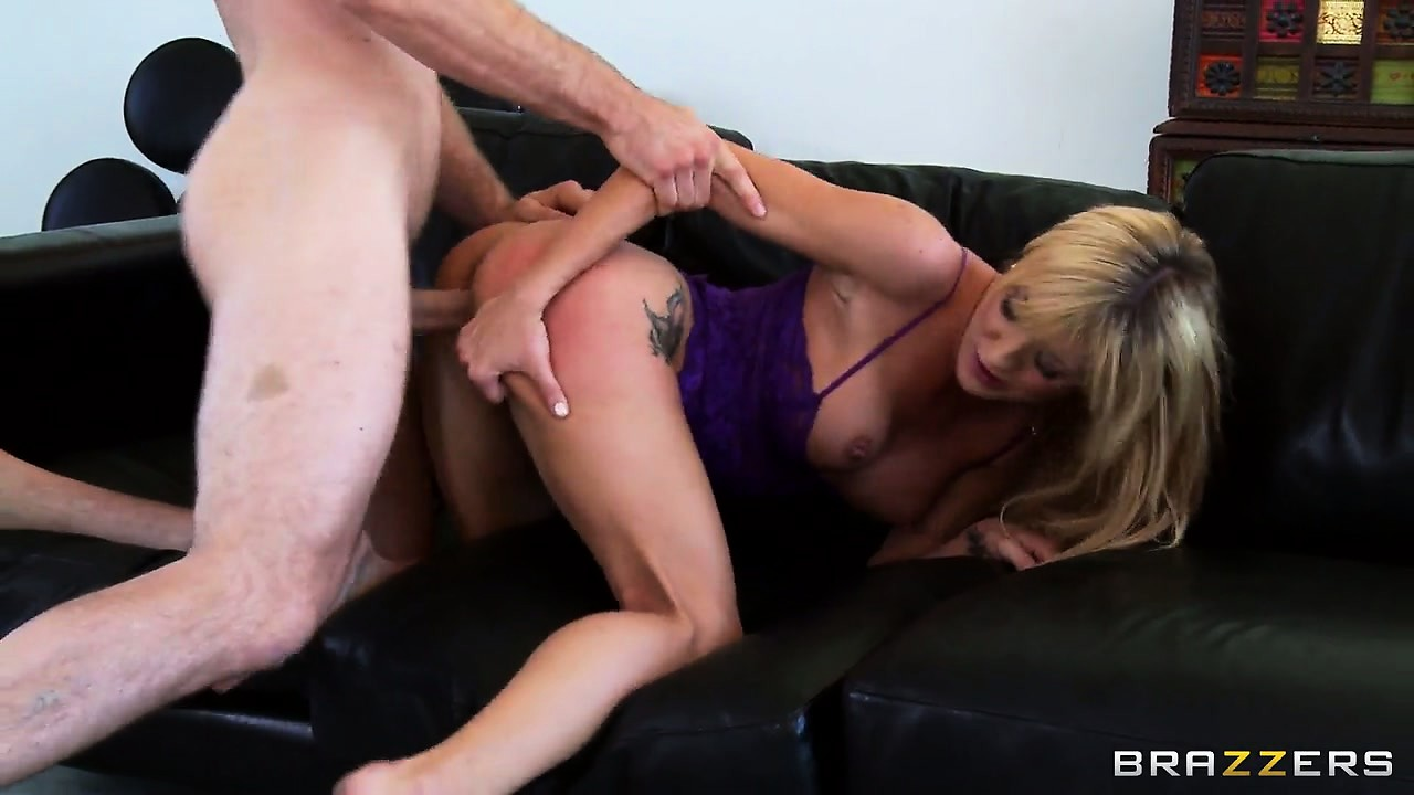 Porno Video of While That Big Cock Drills Her Tight Snatch Her Fingers Are Pleasing Her Ass