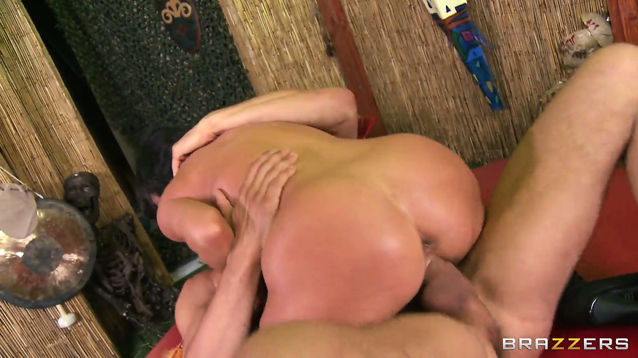 Porn Tube of Voodoo Doctor Gets A Busty Brunette Slut To Stroke And Fuck His Boner