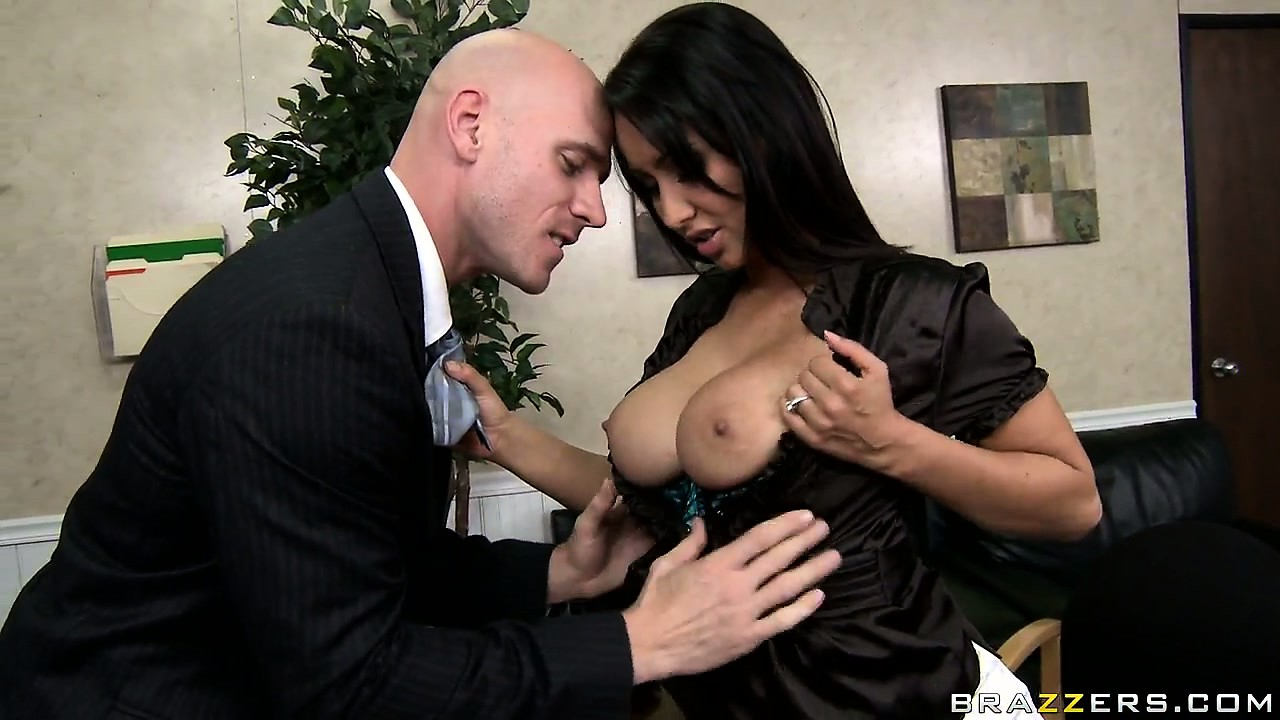 Porn Tube of The Hot Brunette With Big Tits And Sexy Ass Is A Business Woman With Desires To Explore