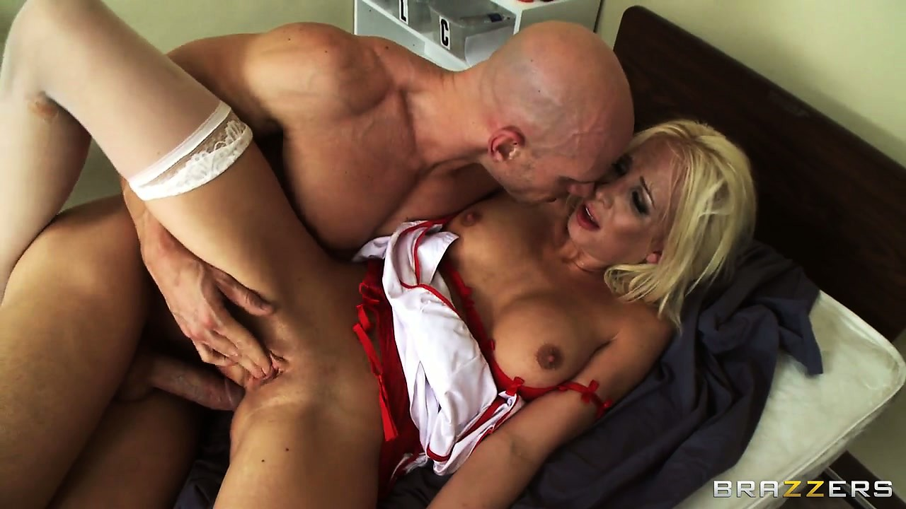 Porno Video of Teen Nurse Eden Adams Tries Out Her Patient's Cock After It Has Been Treated