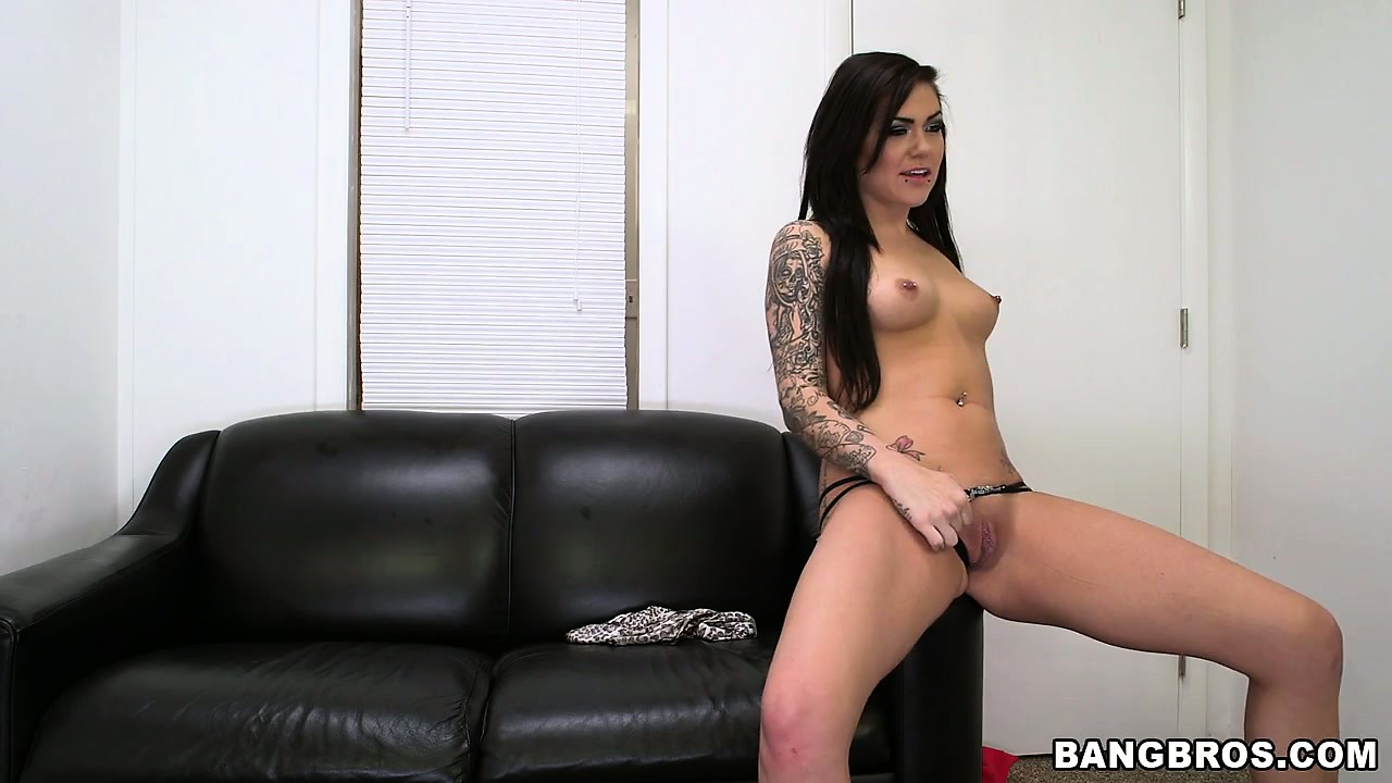 Porn Tube of It's Her First Time In Front Of The Camera But Karmen Karma Doesn't Hesitate In Taking Her Clothes Off