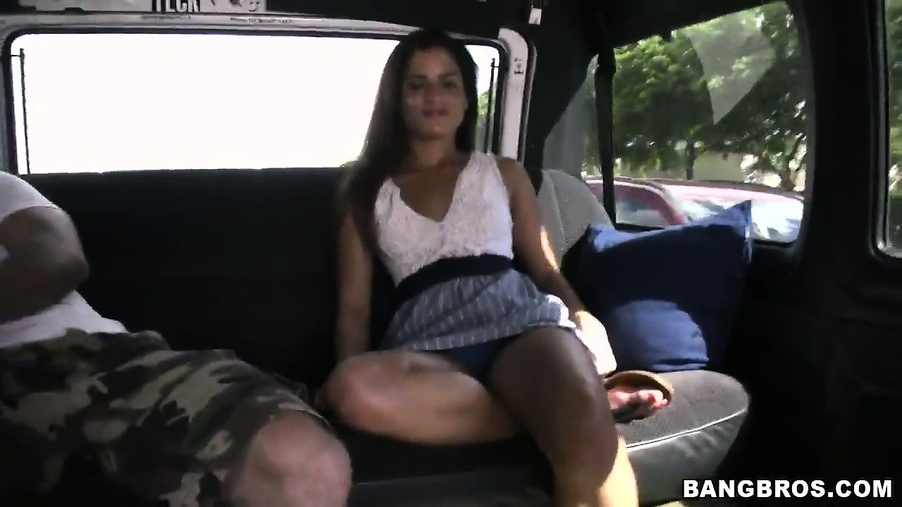 Porn Tube of Skinny Babe Strips And Touches Herself During A Boring Roadtrip