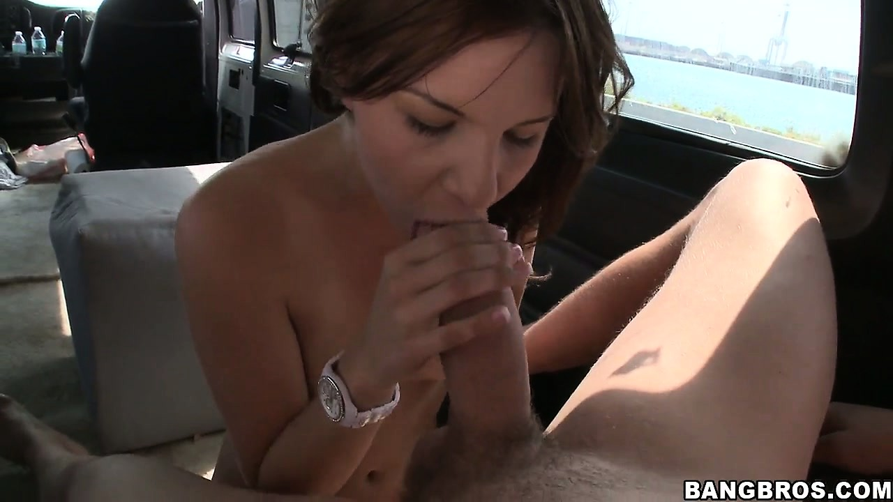 Porno Video of Skinny Teen Gets Fucked On The Floor While Riding The Bangbus